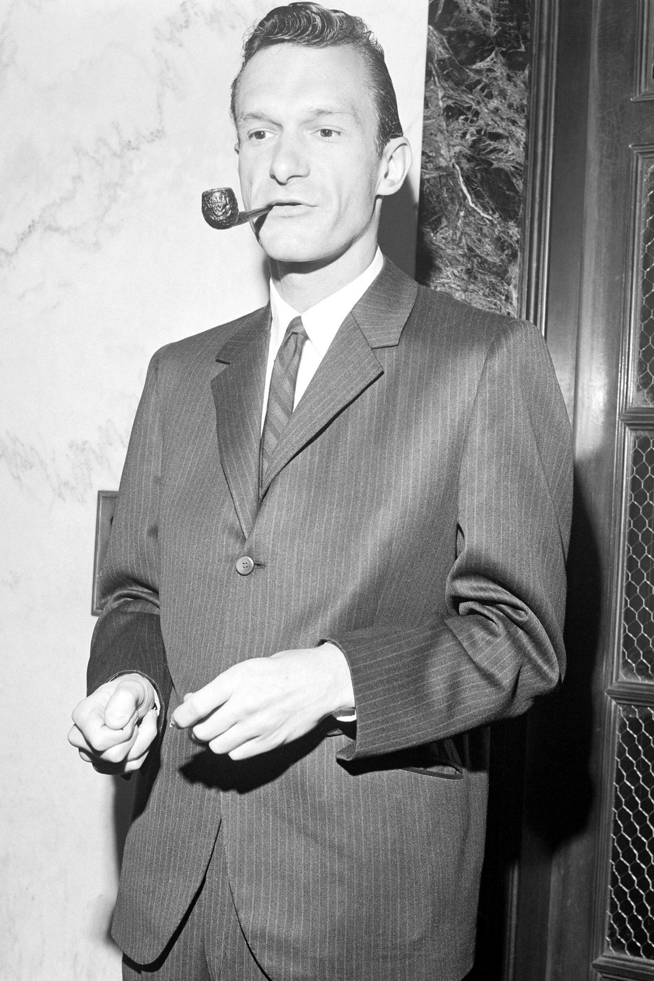 Hugh Hefner Lighting Pipe