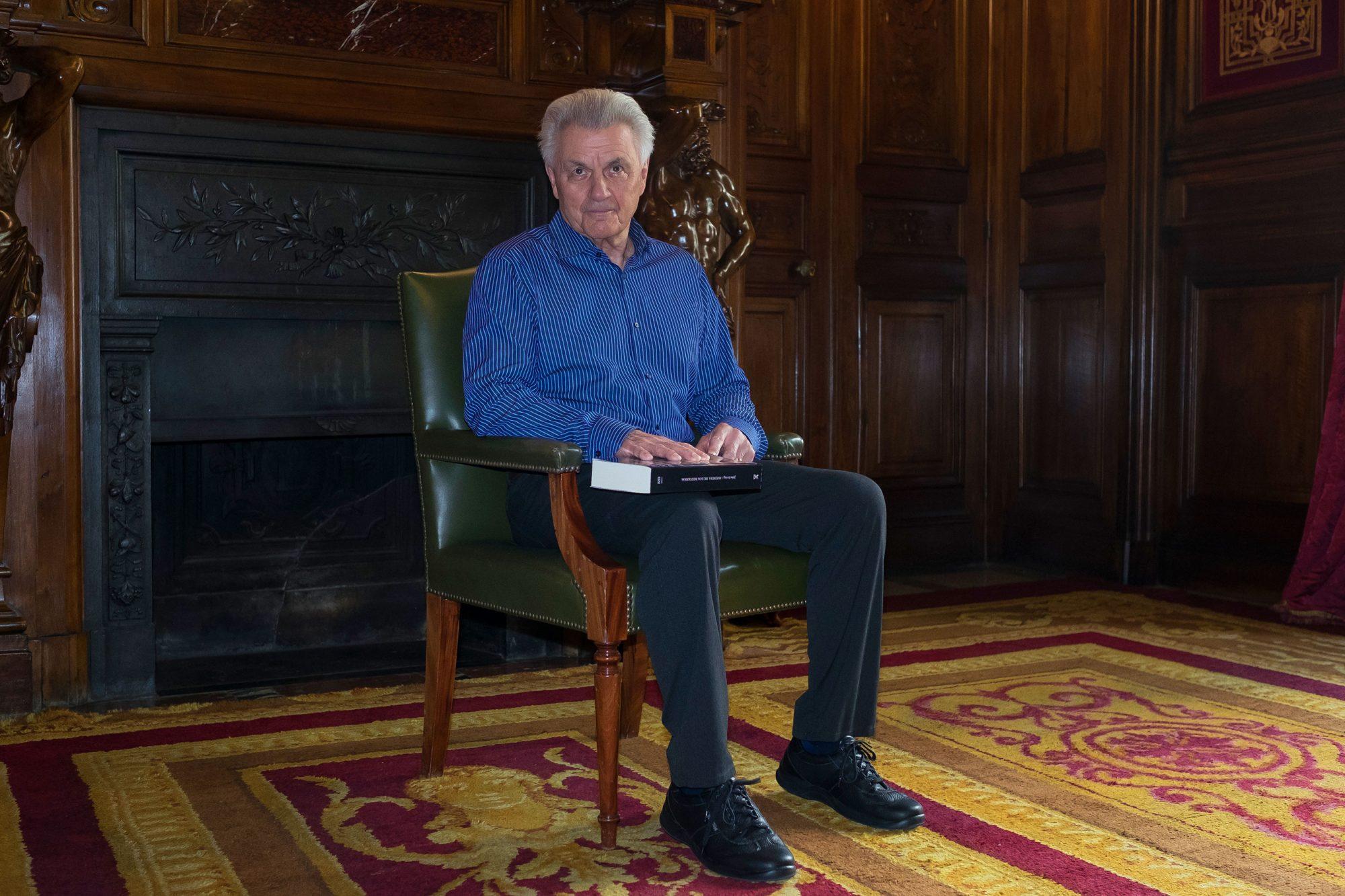 John Irving in Madrid