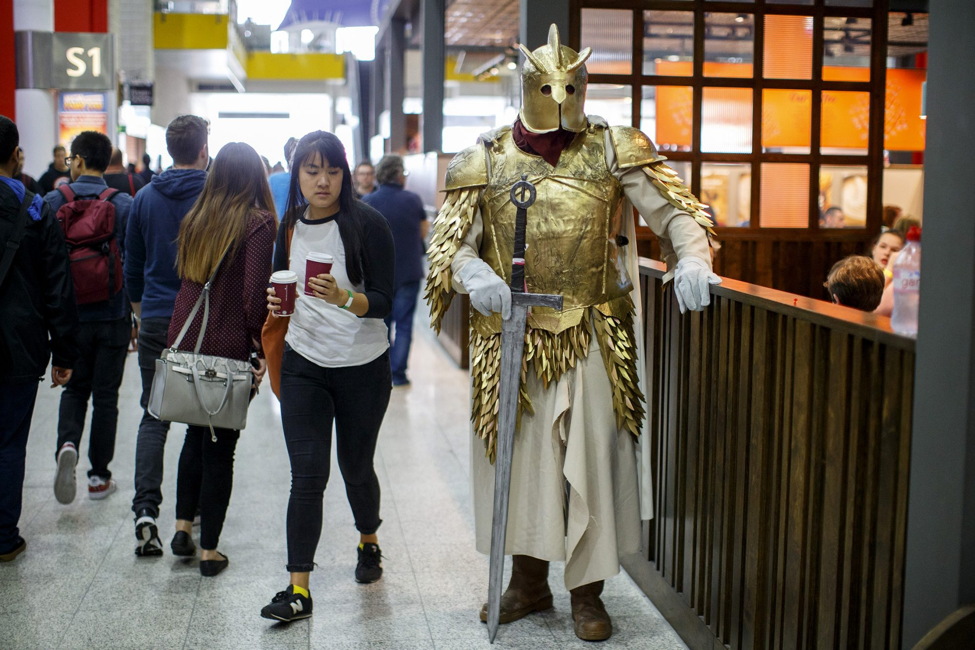 Gregor Clegane Cosplayer at Birmingham MCM Comic-Con 2016