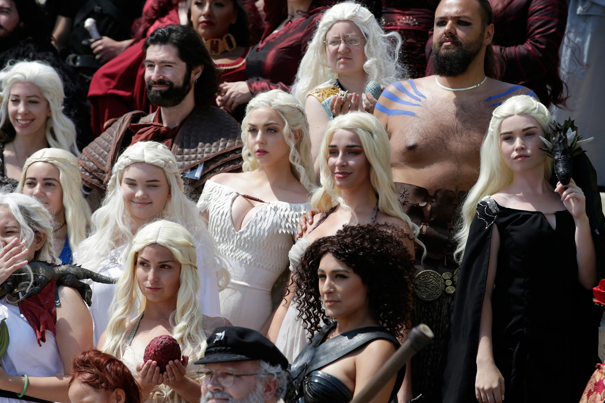 Daenerys Targaryen Cosplayers at Comic-Con 2016