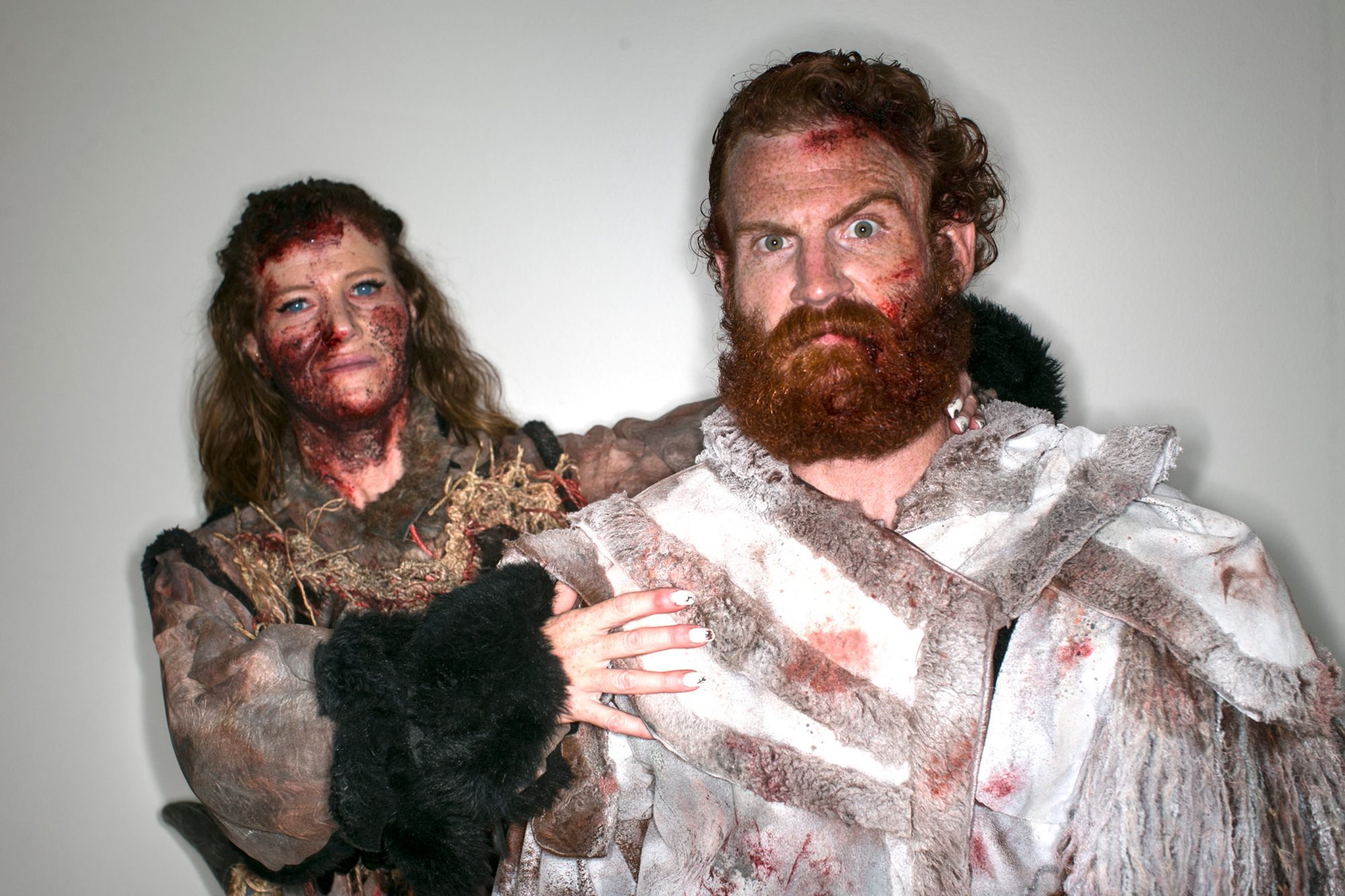 Ygritte and Tormund Cosplayers at Comic-Con 2016