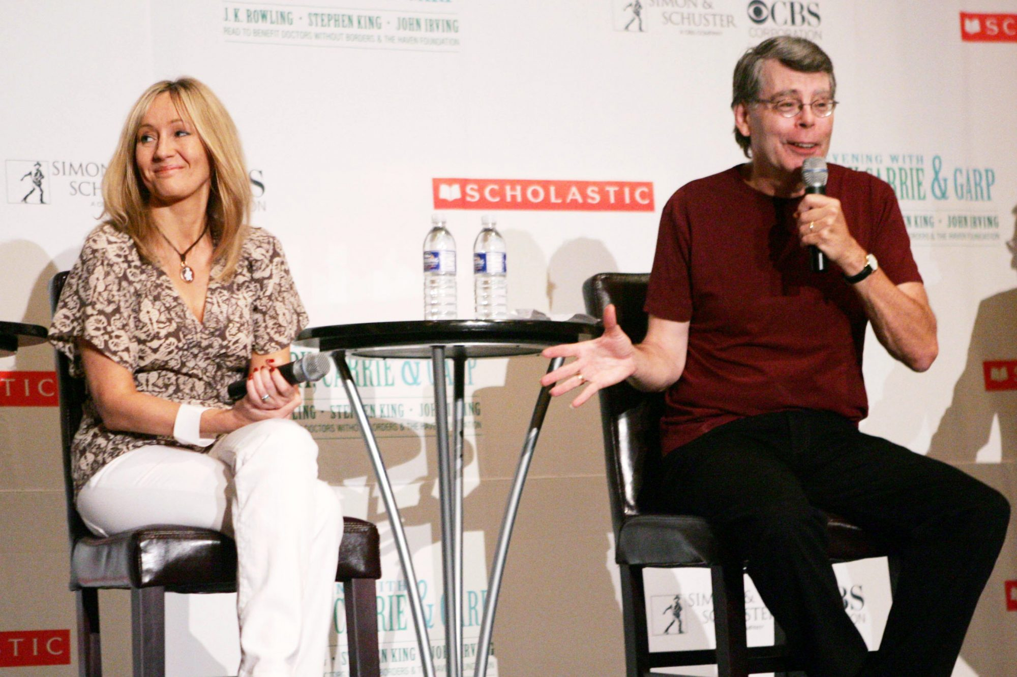 An Evening With Harry, Carrie And Garp Press Conference