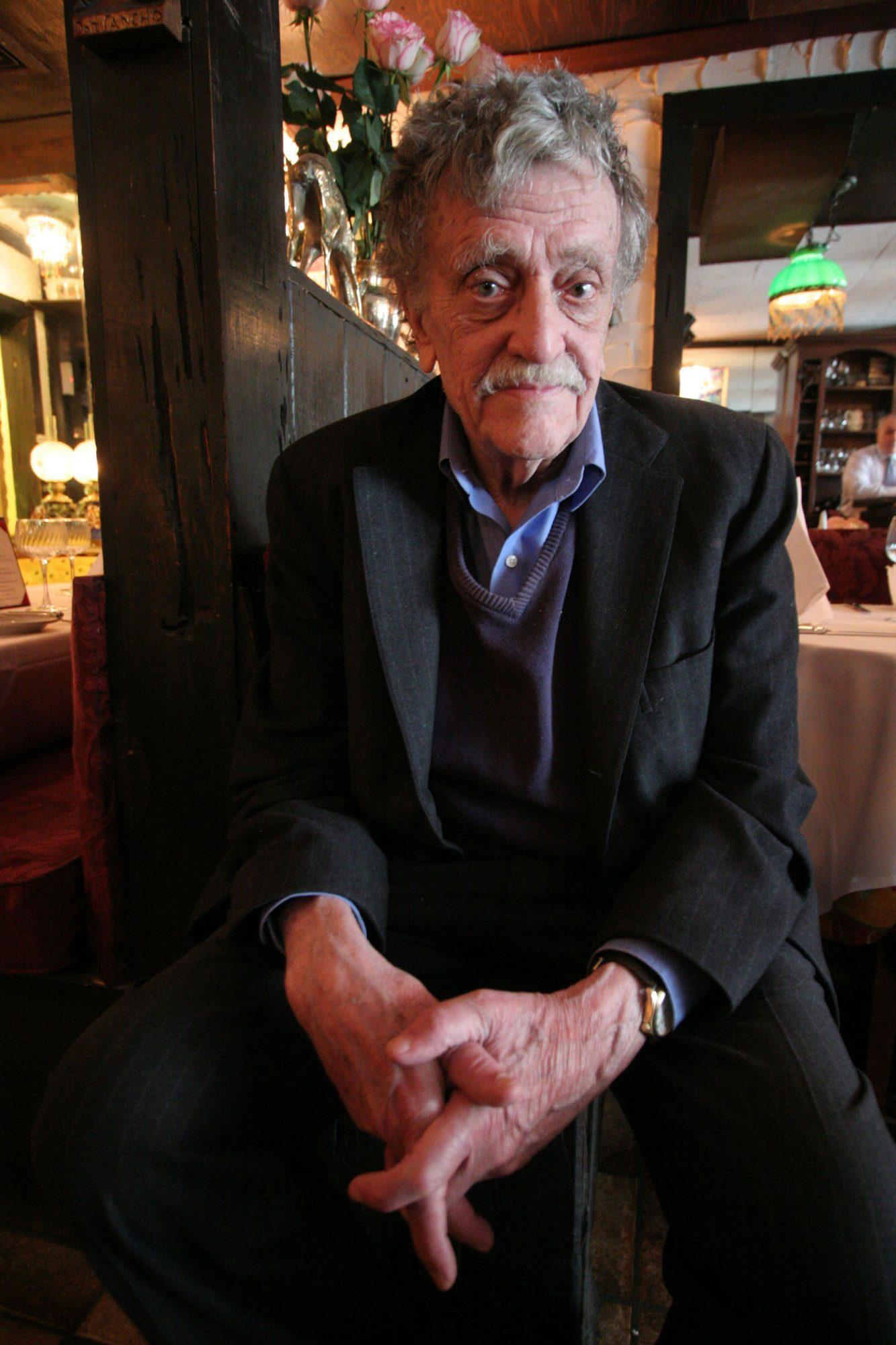Kurt Vonnegut Portrait Session
