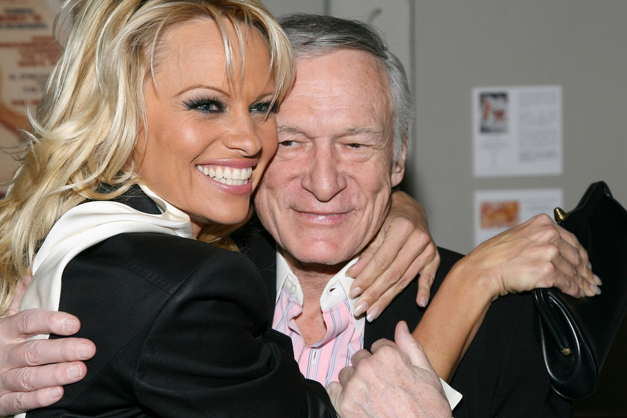 Hugh Hefner and International Images Launch the Playboy Legacy Collection at Republic