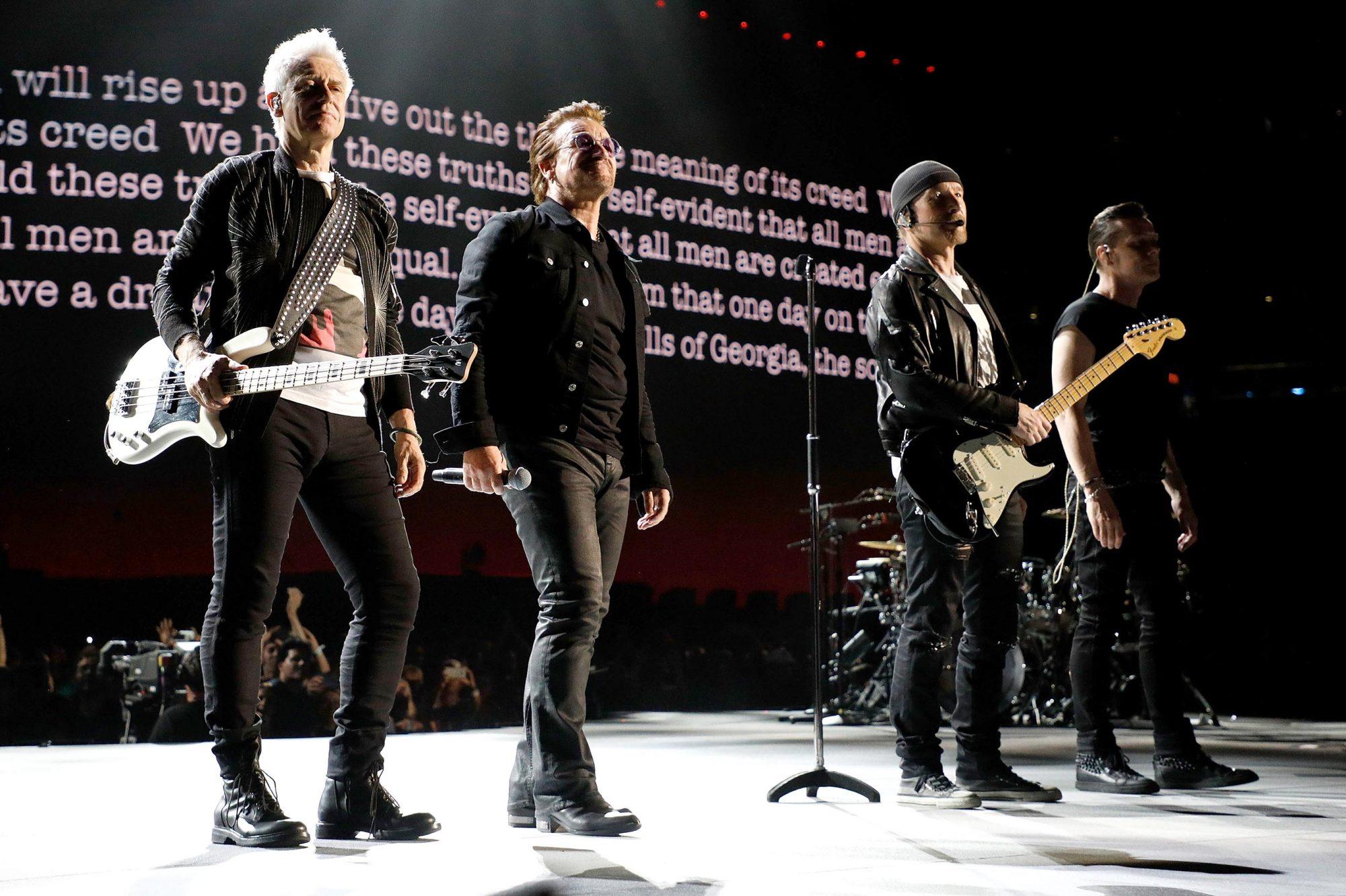 "U2 ""Joshua Tree Tour 2017"" - East Rutherford, New Jersey"
