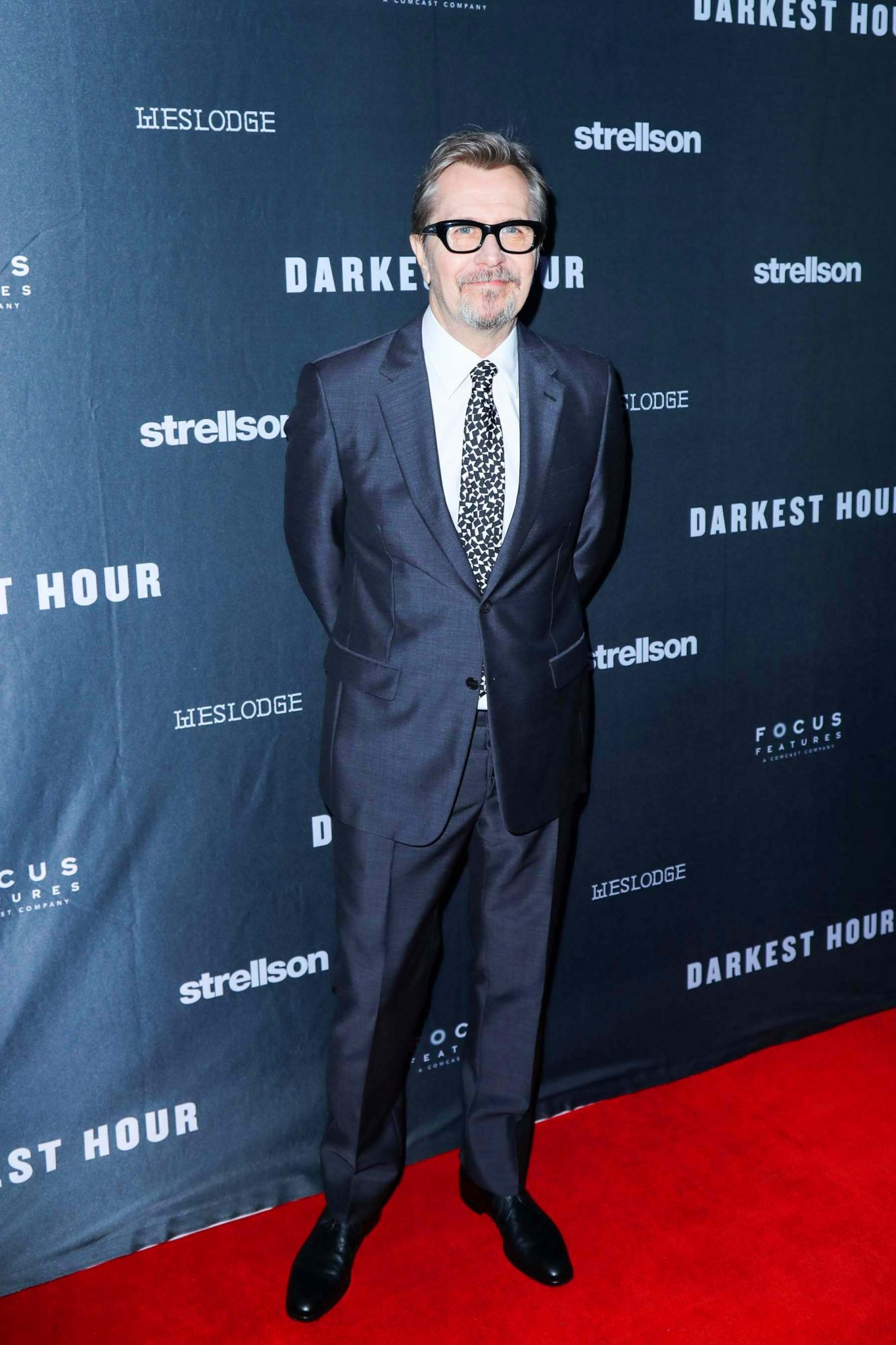 """Focus Features And Strellson Present """"Darkest Hour"""" Official Film Festival Premiere Party At Westlodge Toronto"""