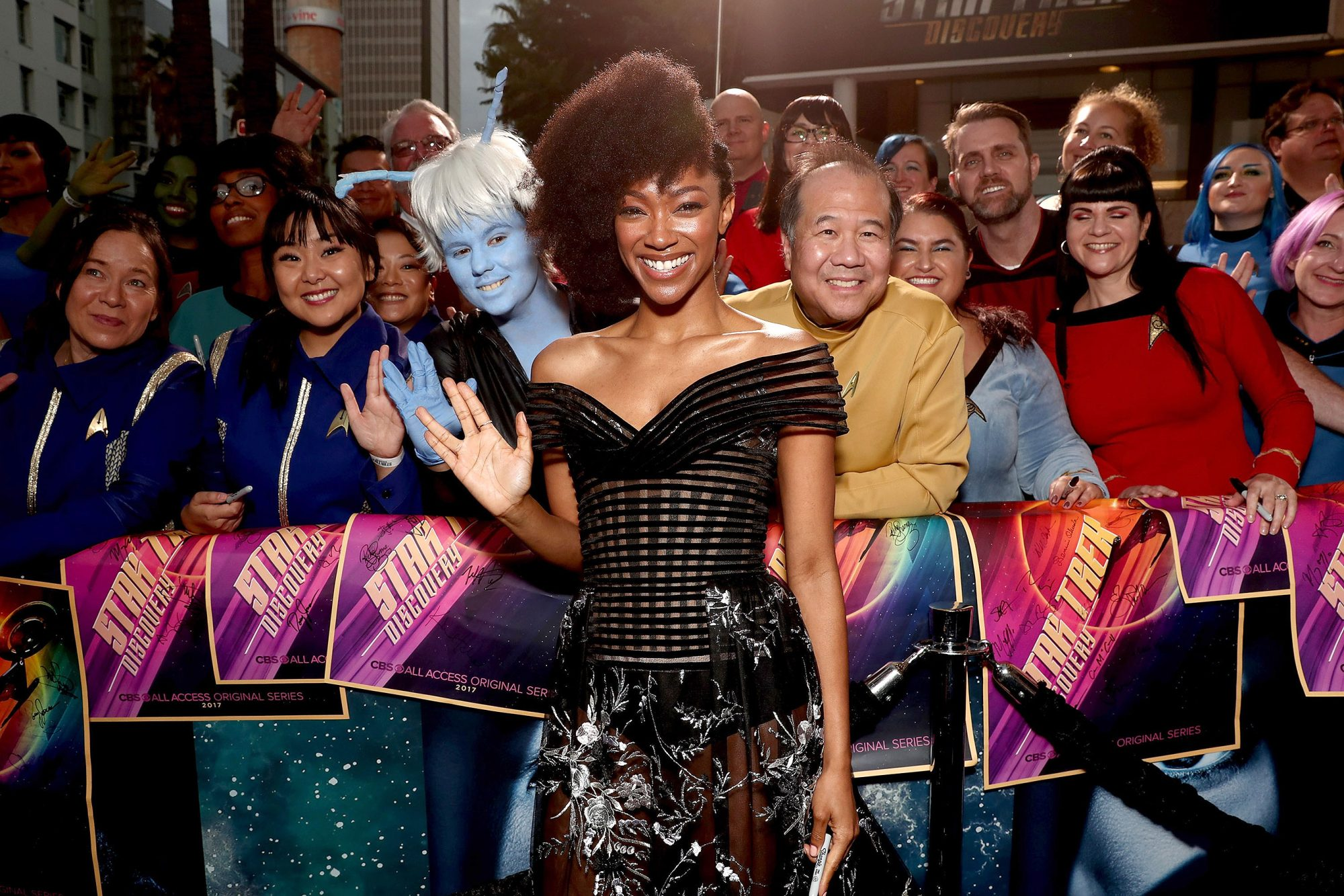 """Premiere Of CBS's """"Star Trek: Discovery"""" - Red Carpet"""