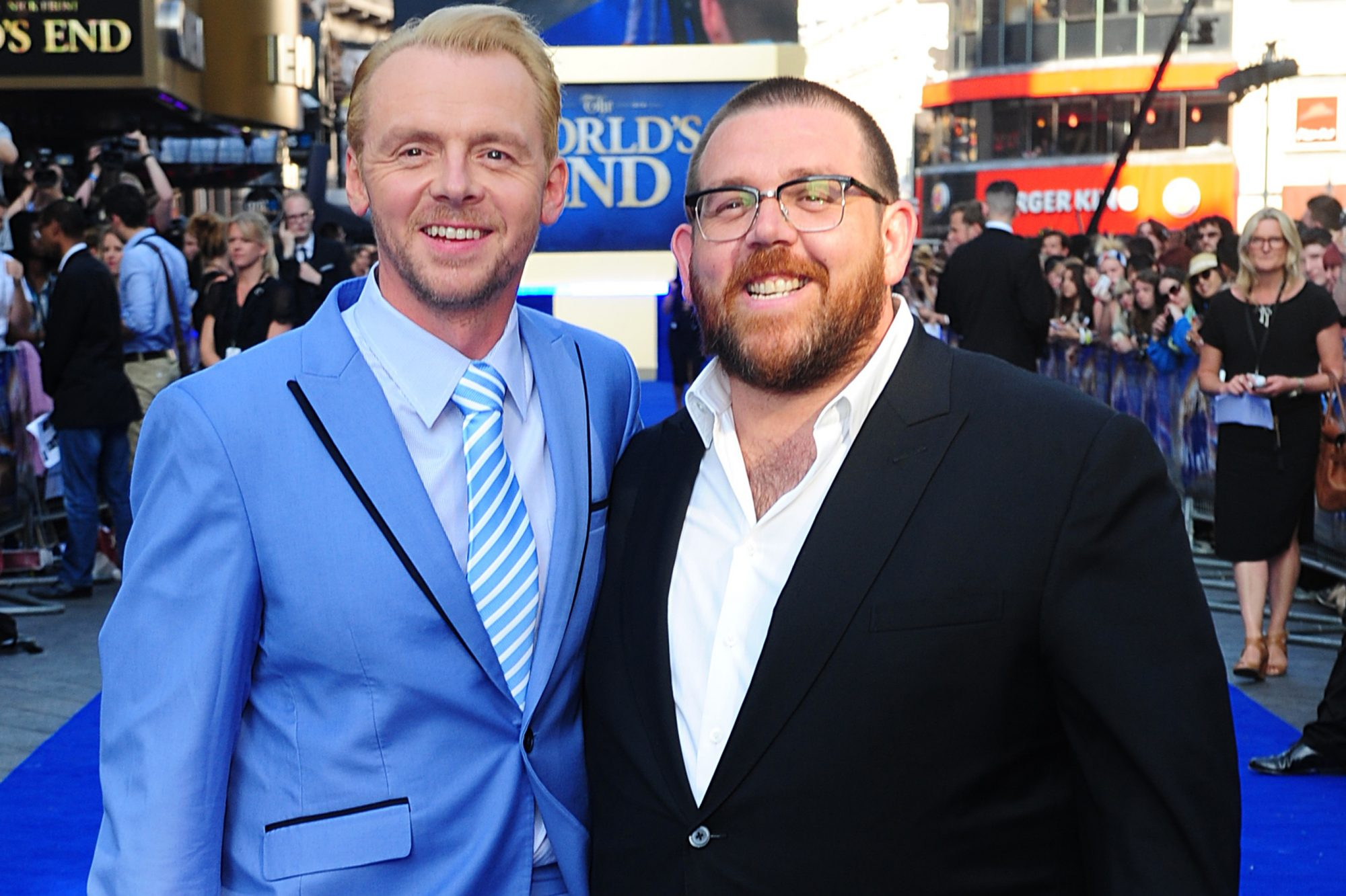 The World's End Premiere - London