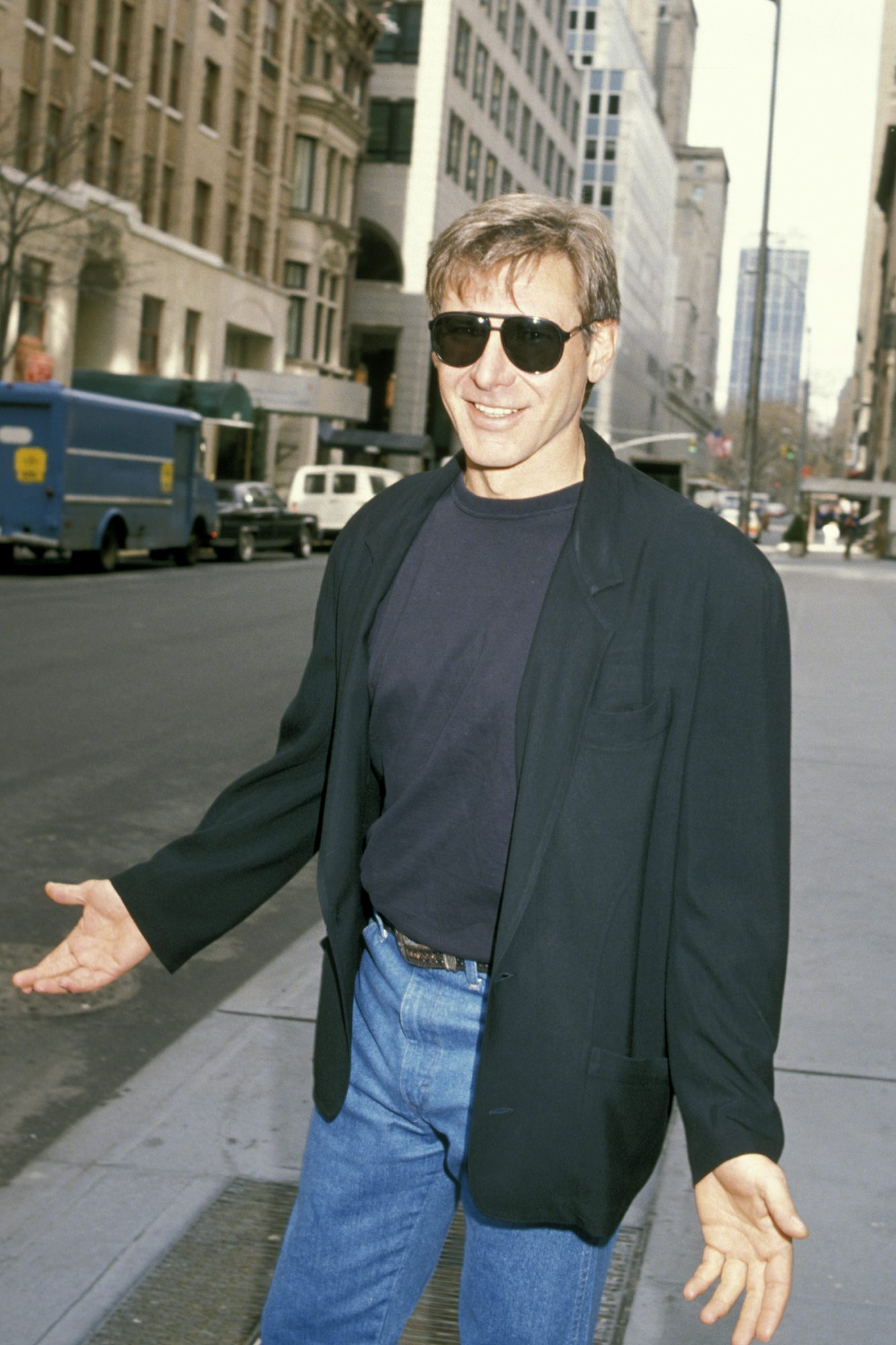 Harrison Ford Sighting on Park Avenue - March 28, 1989