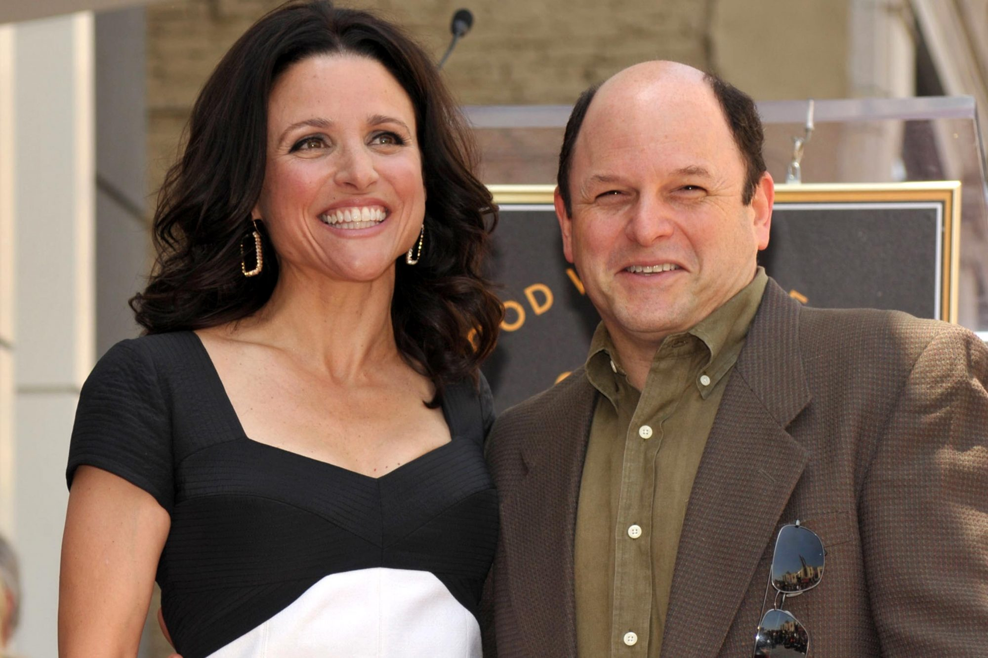 Julia Louis-Dreyfus Honored With Star On Hollywood Walk Of Fame