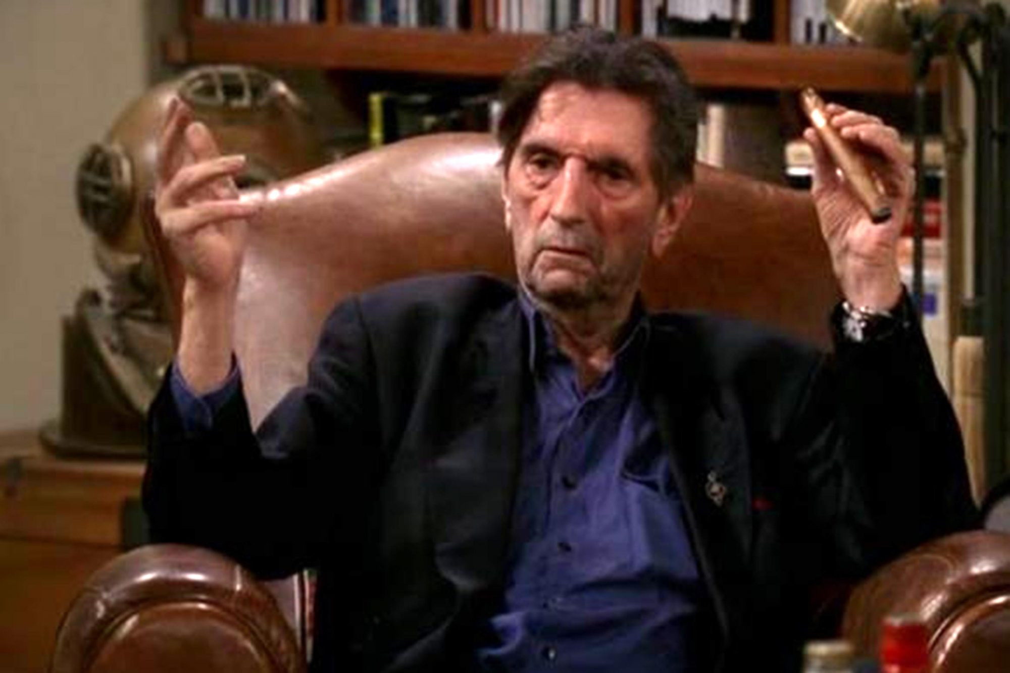 Harry Dean Stanton on Two and a Half Men CR: CBS