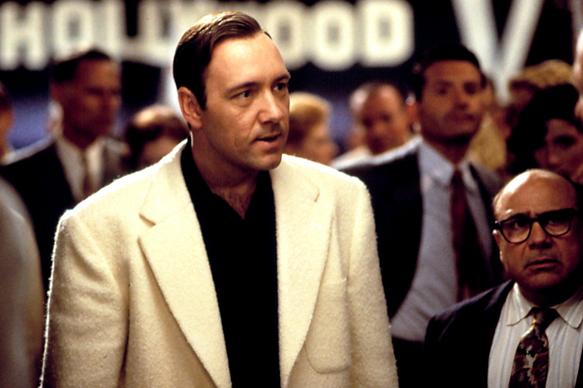 L.A. CONFIDENTIAL, Kevin Spacey, Danny De Vito, 1997