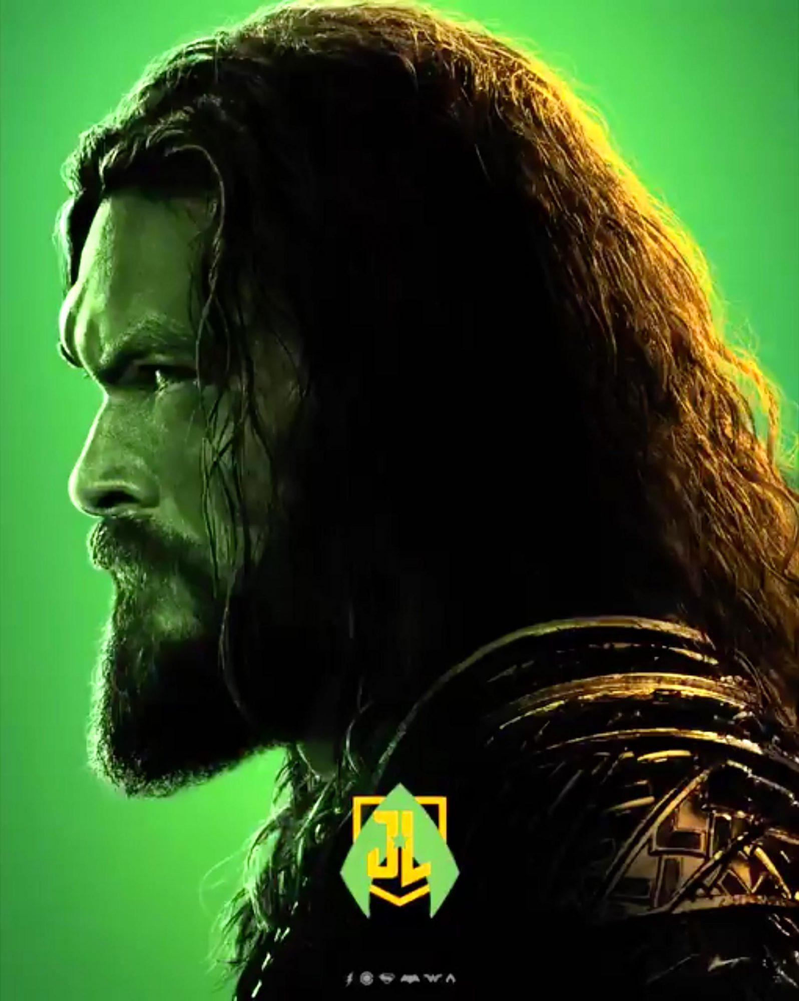 Justice League Poster CR: DC