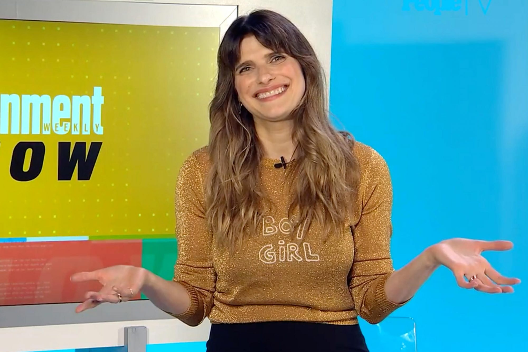 Lake Bell on The Entertainment Weekly Show CR: People TV