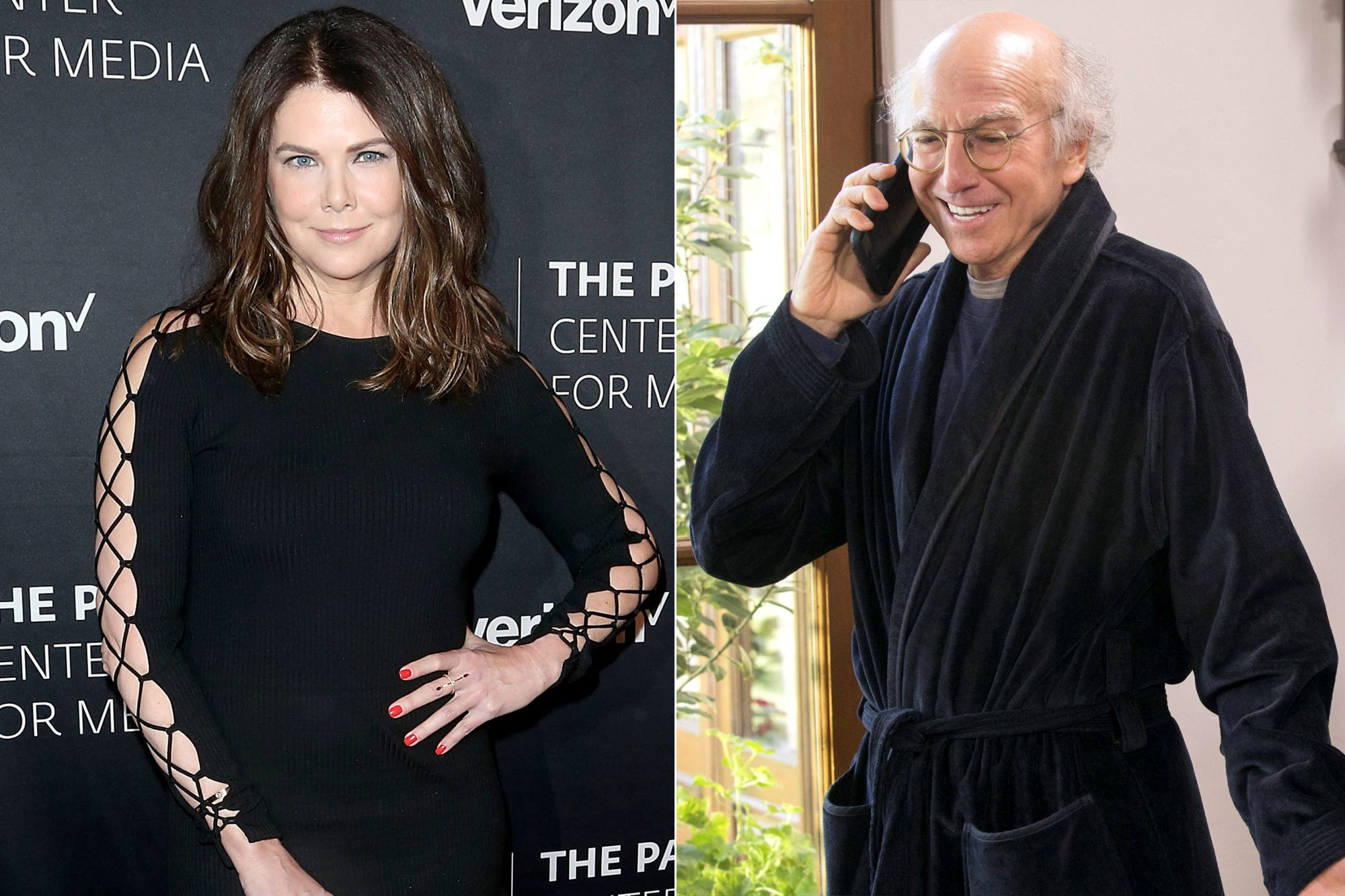 Lauren Graham / Larry David Curb your enthusiasm