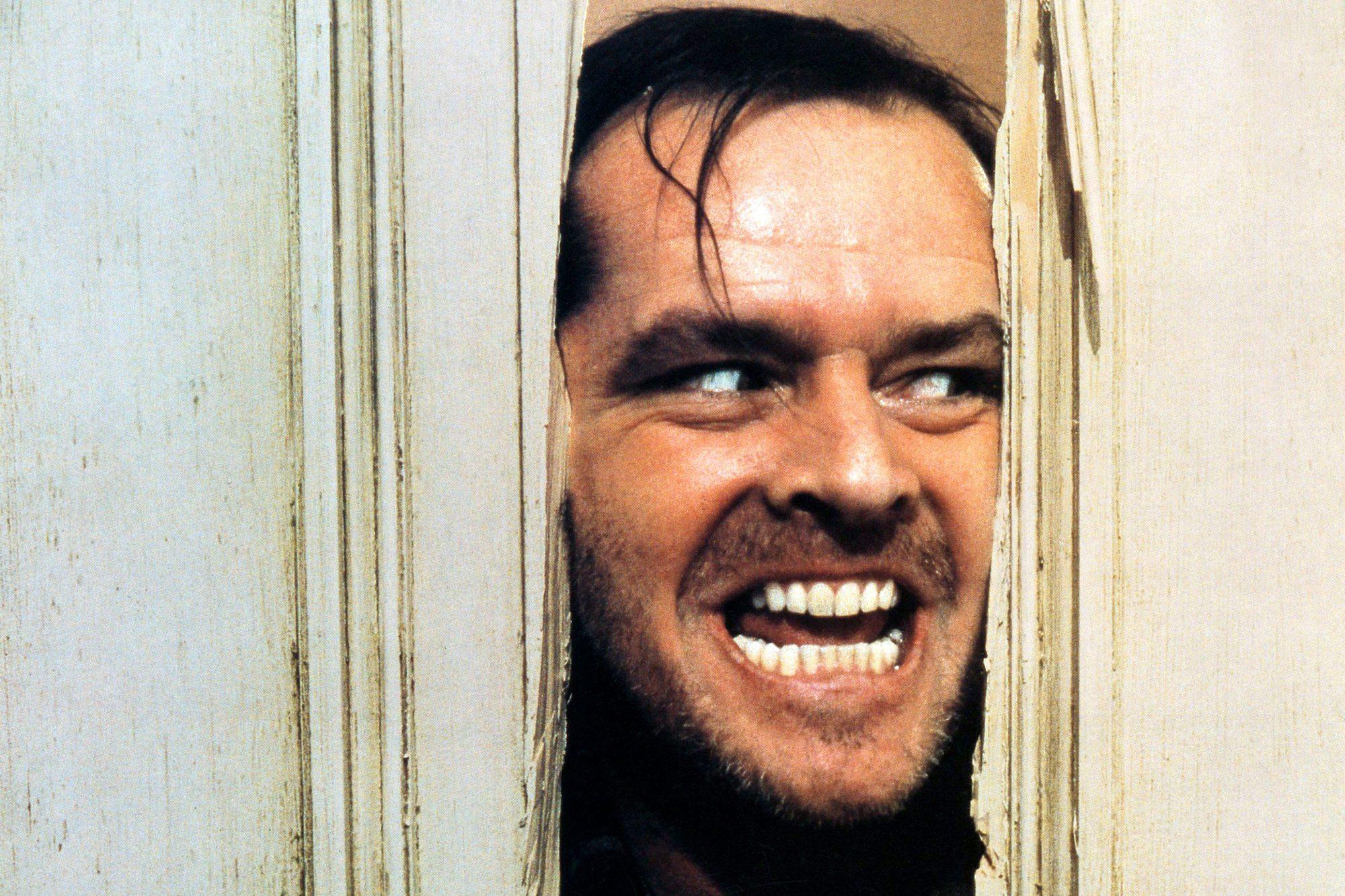 THE SHINING, Jack Nicholson, 1980. ©Warner Brothers