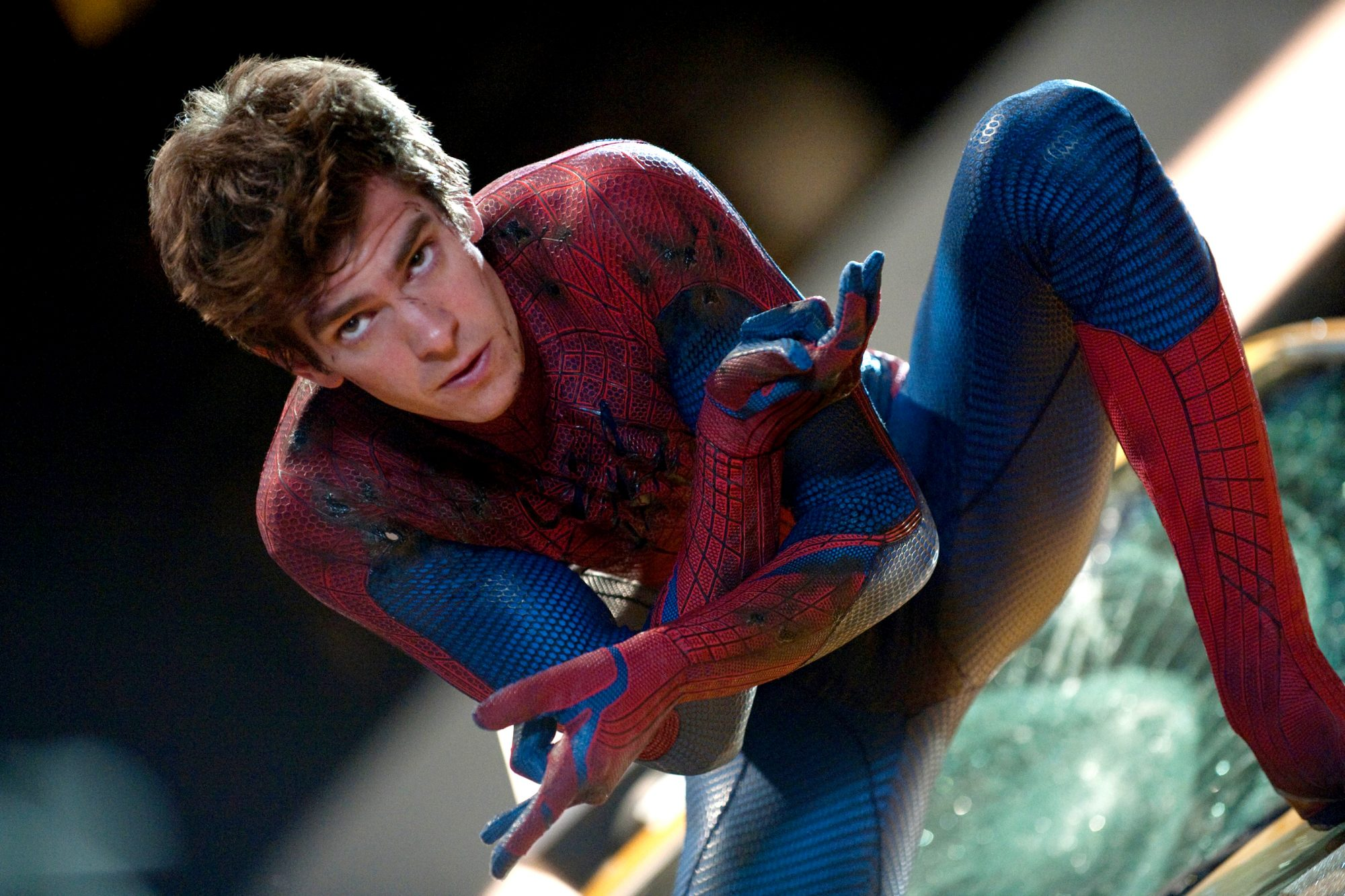 THE AMAZING SPIDER-MAN, Andrew Garfield, as Spider-Man, 2012. ph: Jamie Trueblood/©Columbia Pictures
