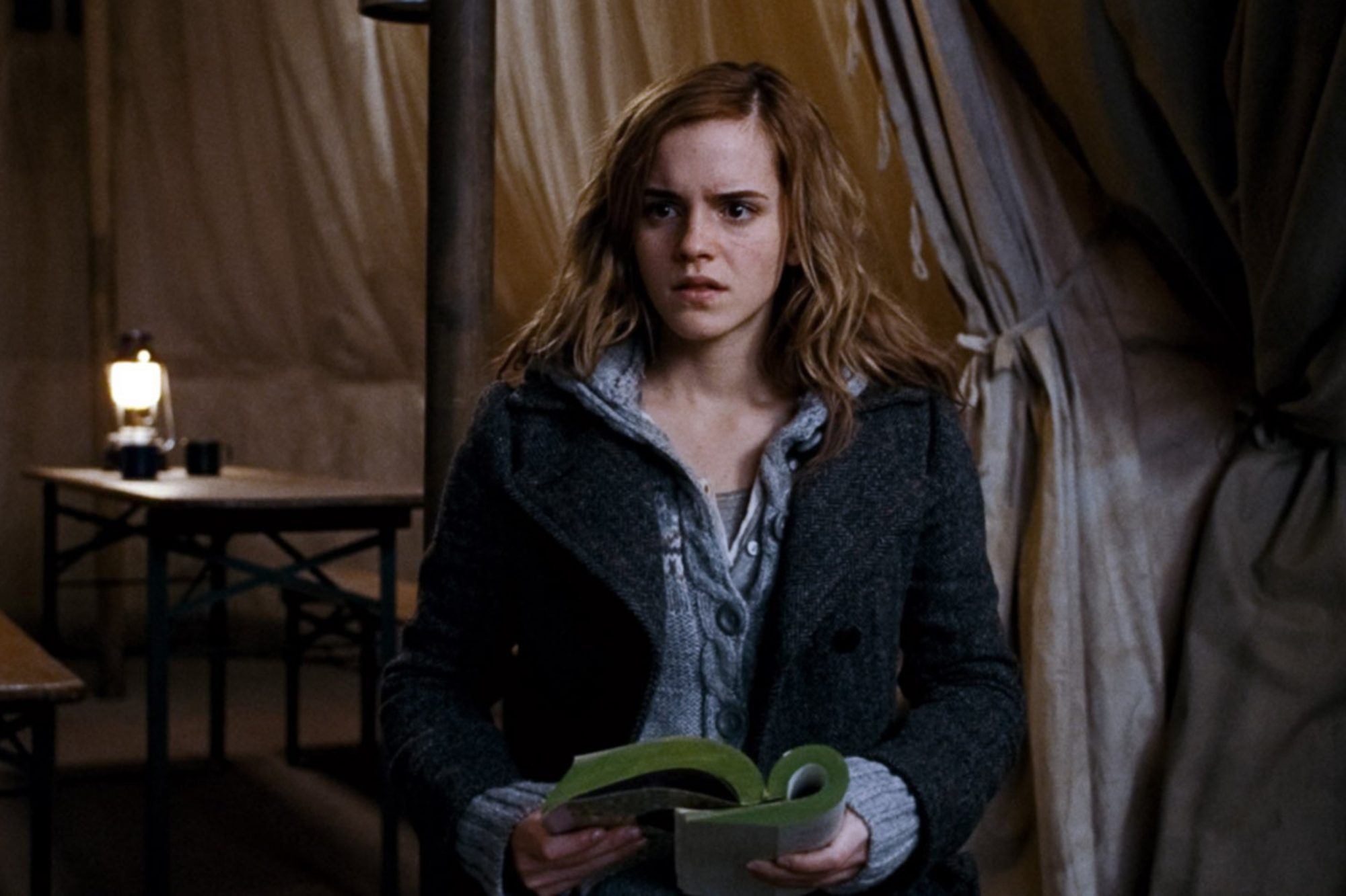 HARRY POTTER AND THE DEATHLY HALLOWS: PART 1, Emma Watson, 2010. ©2010 Warner Bros. Ent. Harry Potte