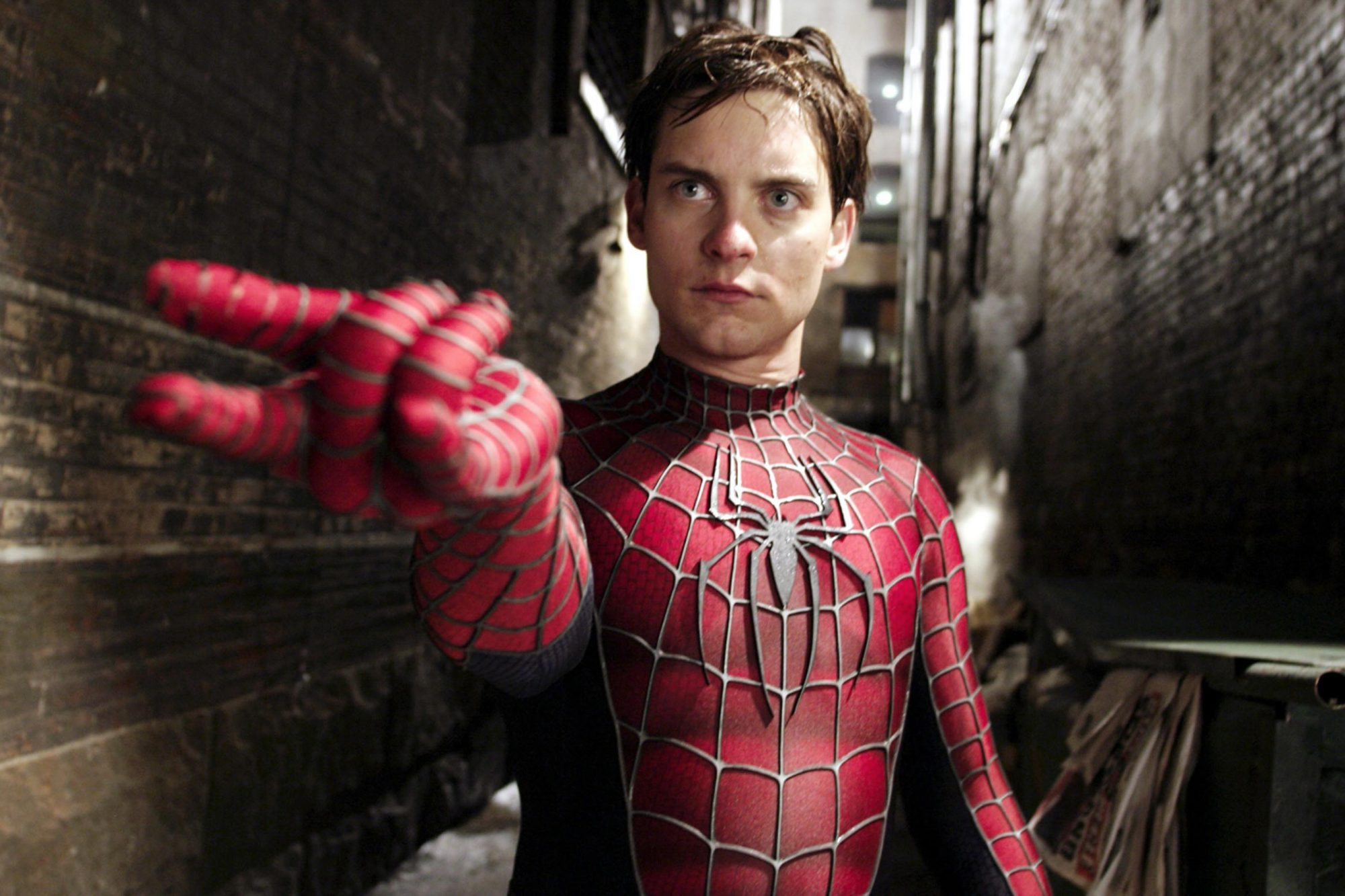 SPIDER-MAN 2, Tobey Maguire, 2004, (c) Columbia/courtesy Everett Collection