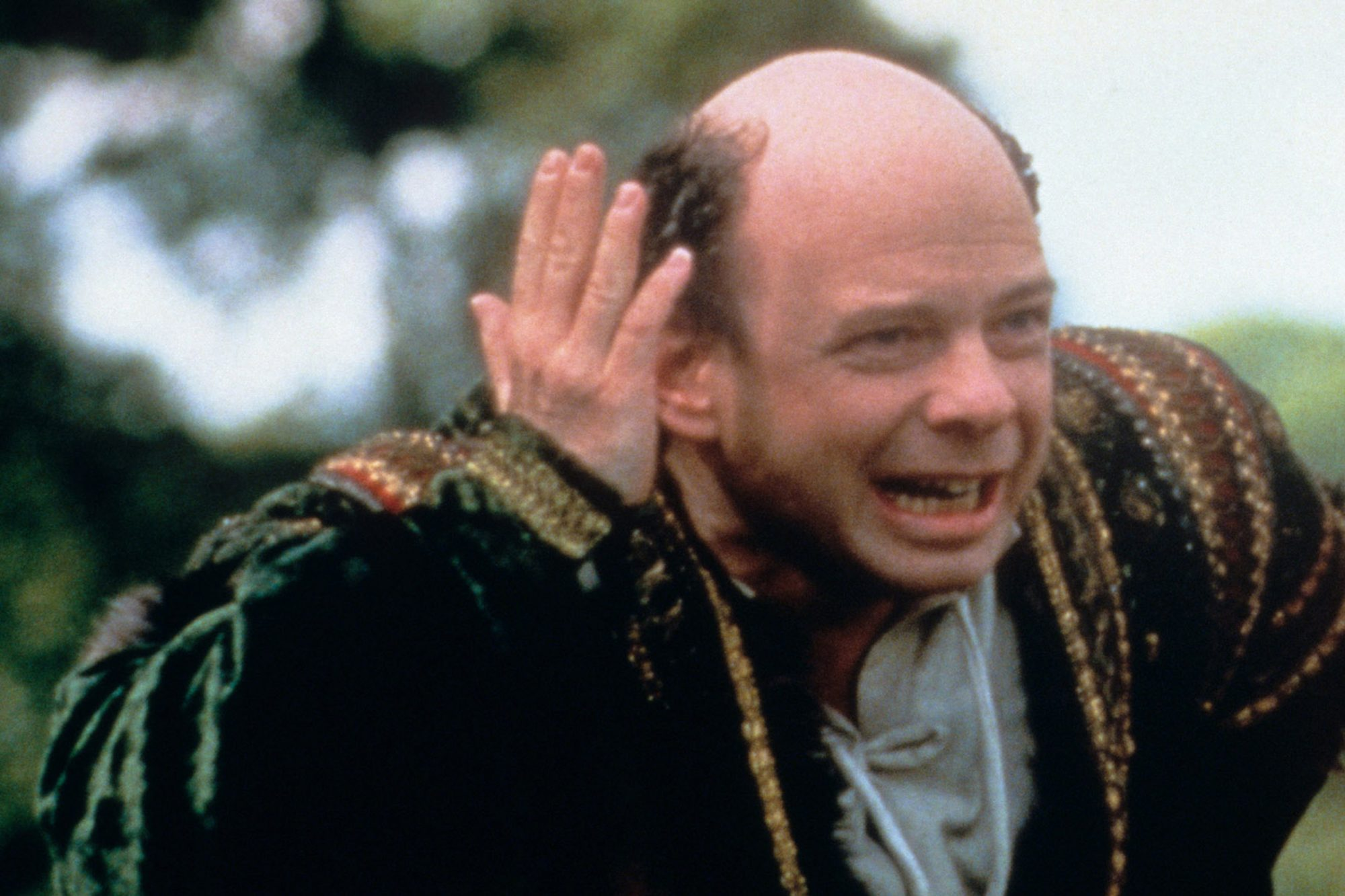 THE PRINCESS BRIDE, from left: Wallace Shawn, Robin Wright, 1987. ©20th Century-Fox Film Corporation