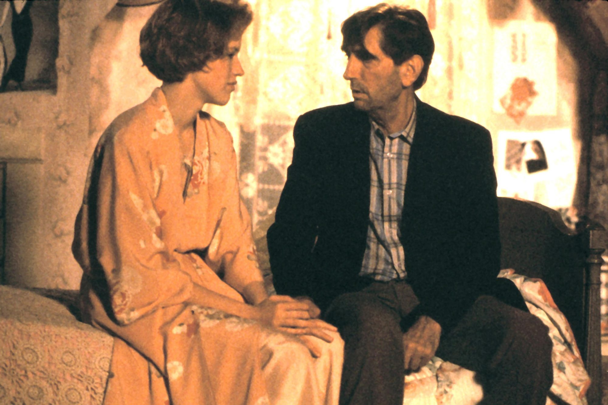 PRETTY IN PINK, Molly Ringwald, Harry Dean Stanton, 1986
