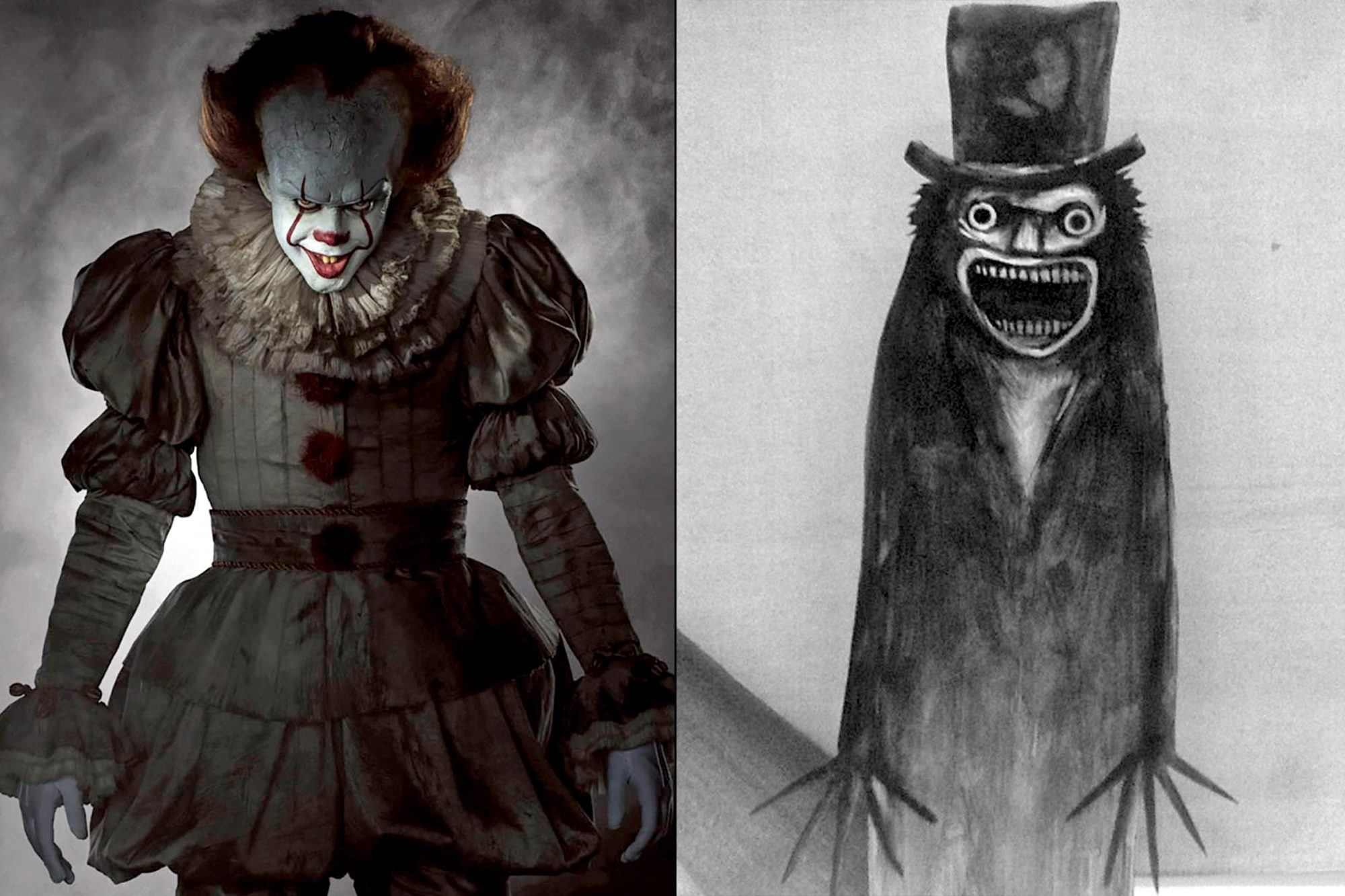 Pennywise and Babadook