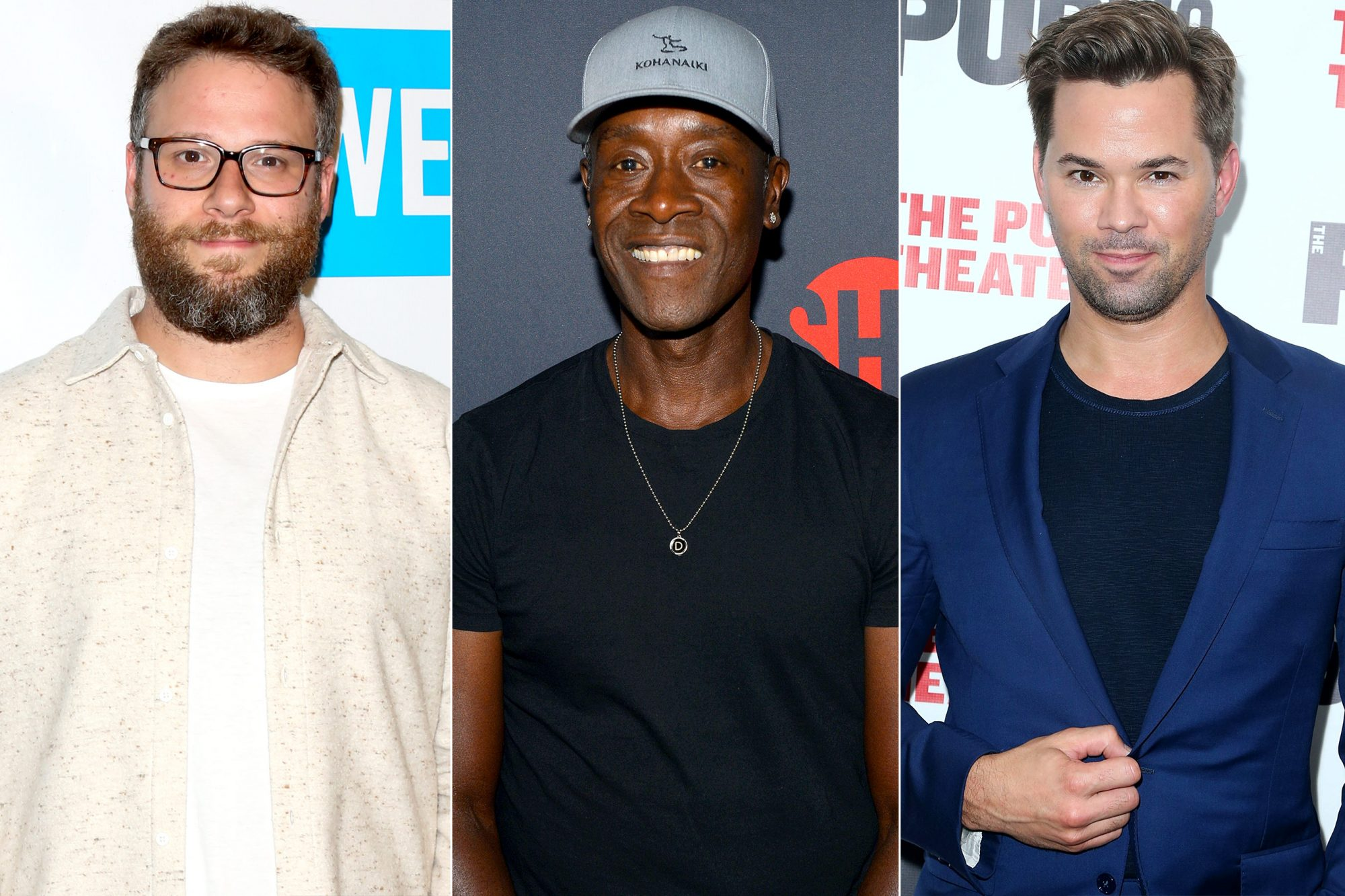 SETH ROGEN / DON CHEADLE / ANDREW RANNELLS