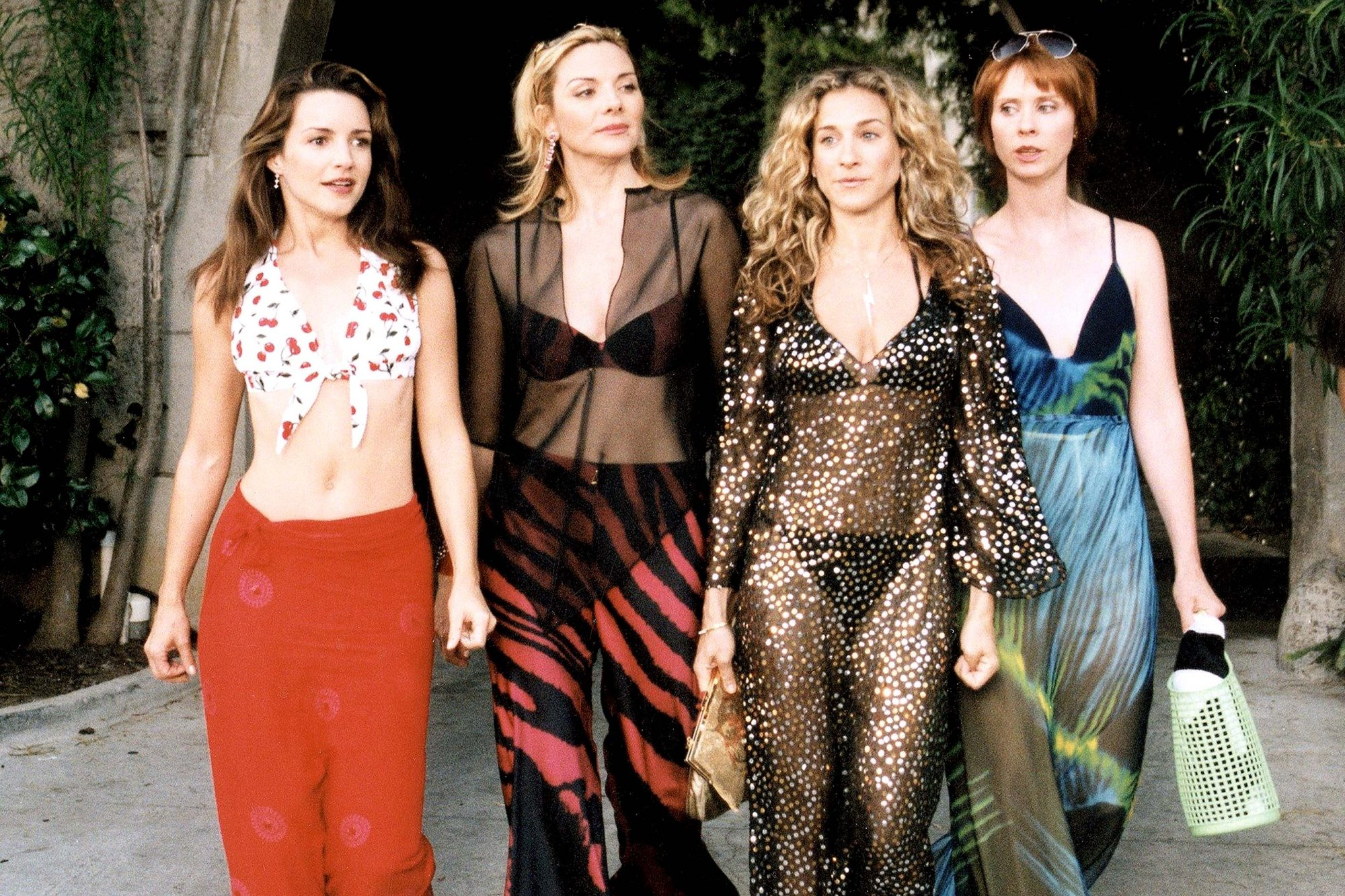 SEX AND THE CITY, (Season 3), Kristin Davis, Kim Cattrall, Sarah Jessica Parker, Cynthia Nixon, 1998