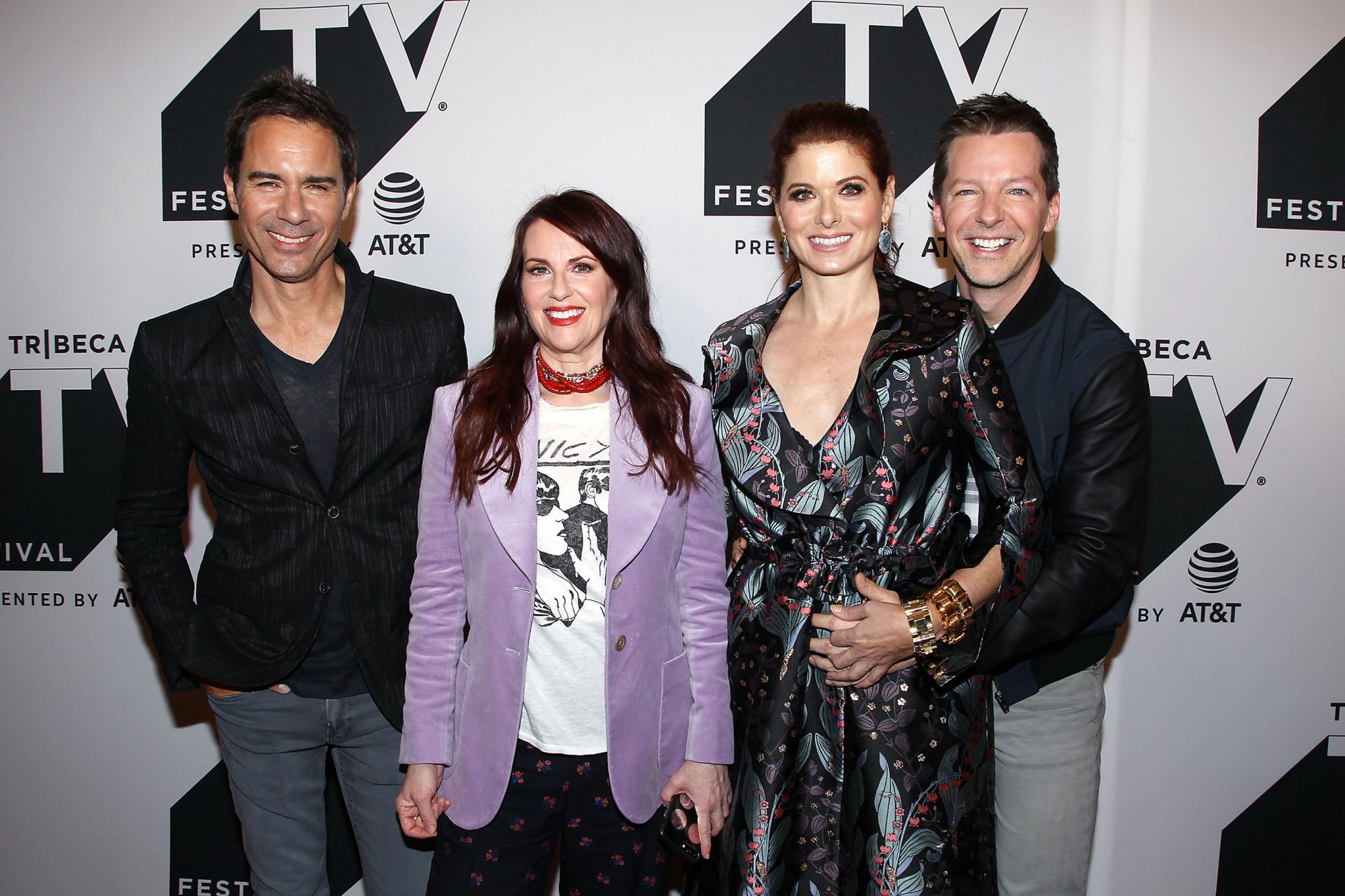 Will & Grace: An exclusive celebration and conversation with cast & creators at The Tribeca TV Festival, New York, USA - 23 Sep 2017
