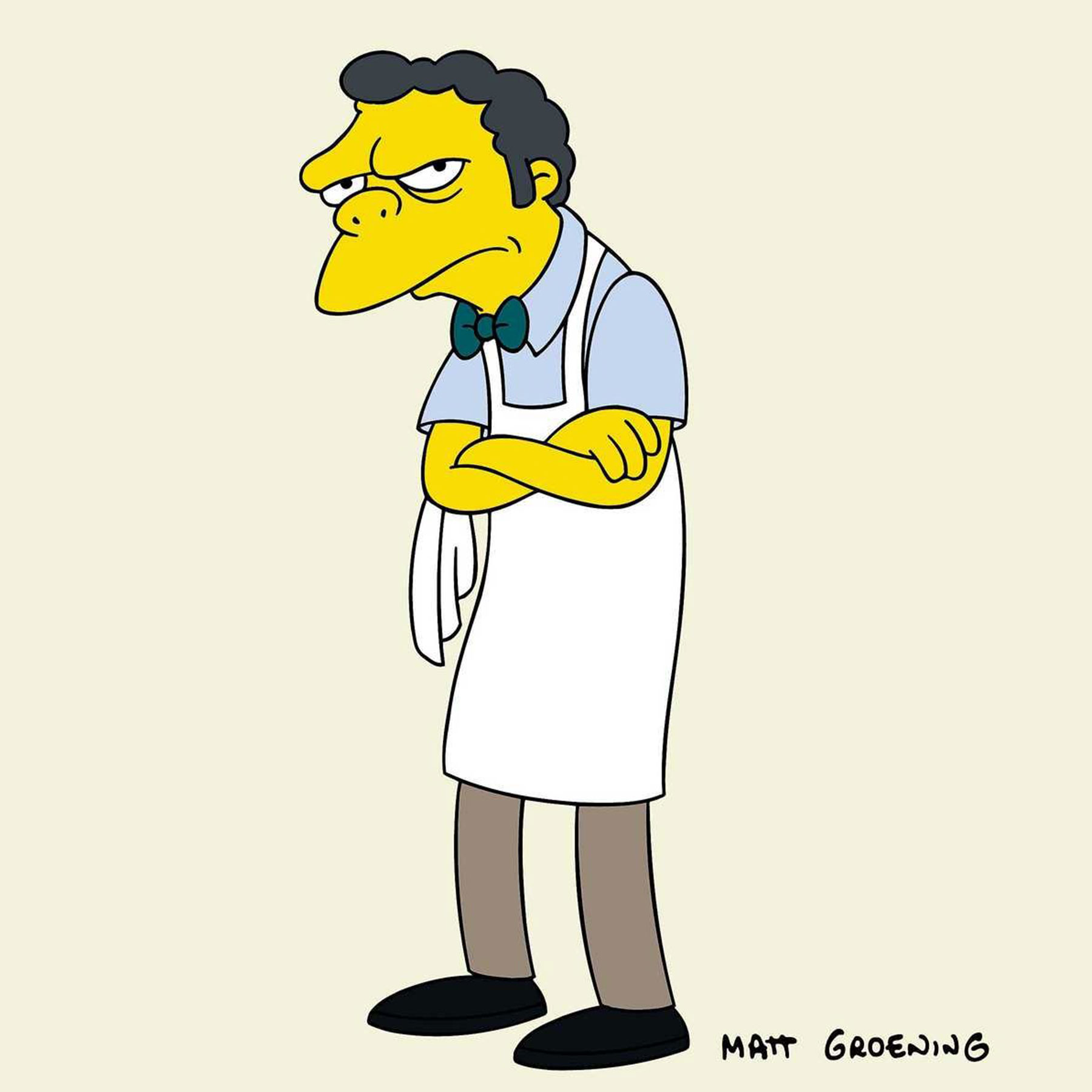 Barkeep Moe Szyslak gallery single