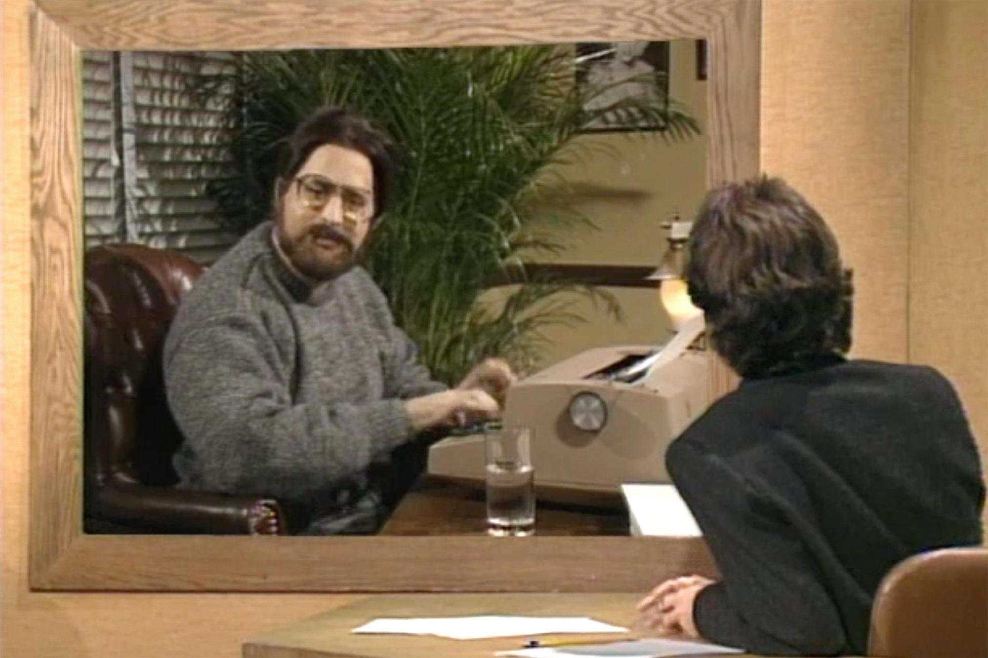 Stephen King on SNL (screen grab) CR: NBC