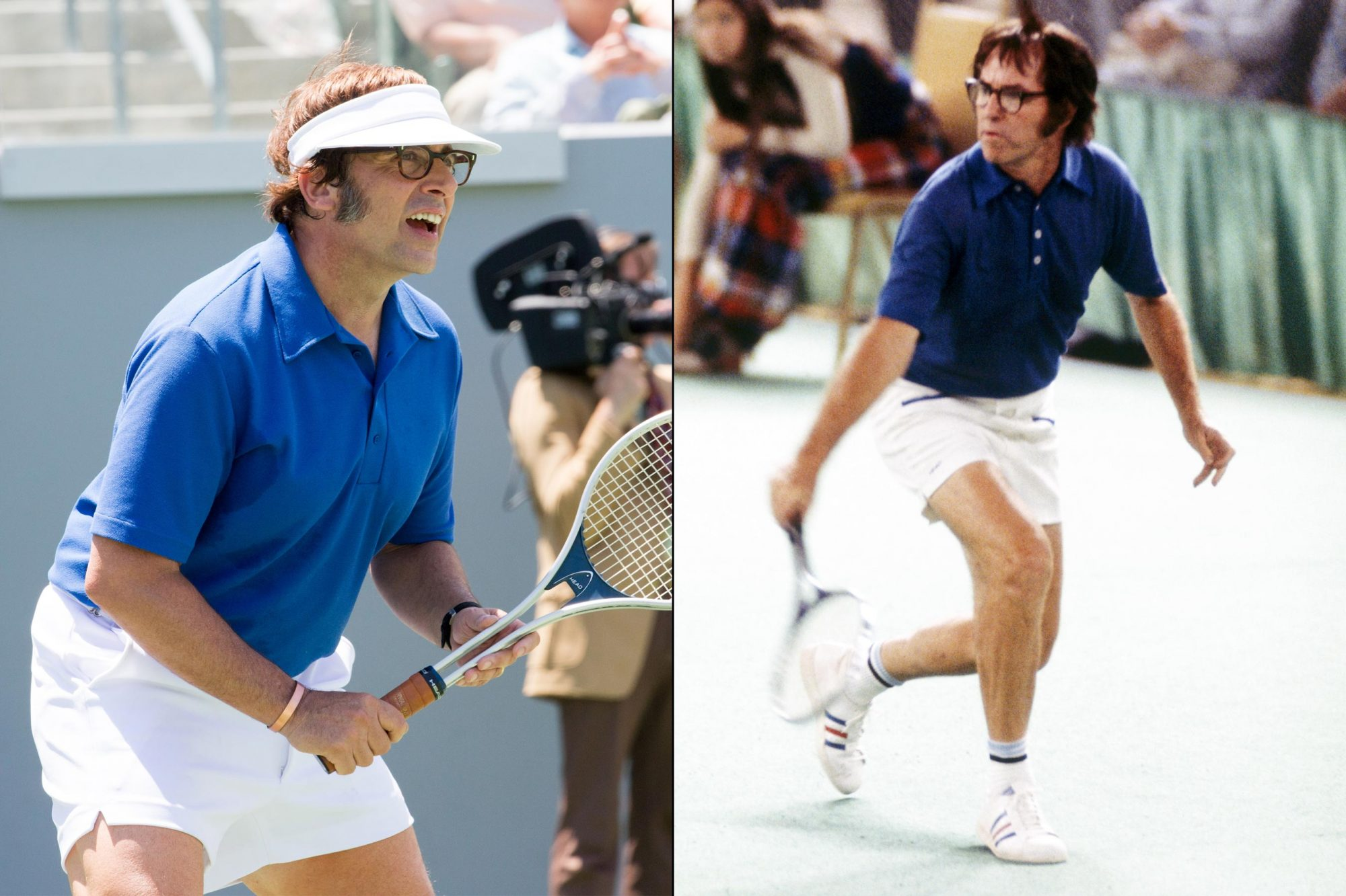 Steve Carell as Bobby Riggs (Battle of the Sexes)