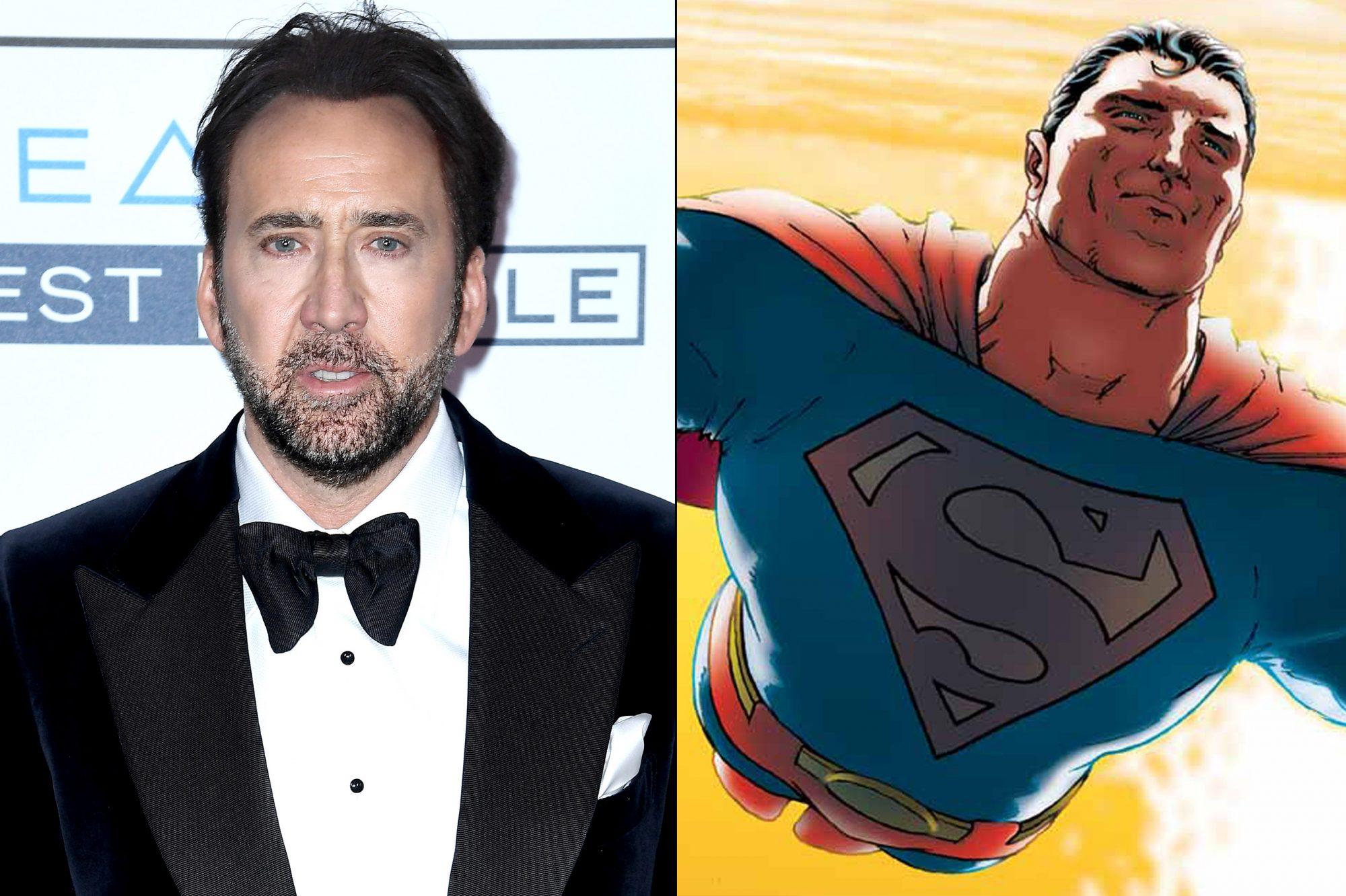 Nicolas Cage/ Superman