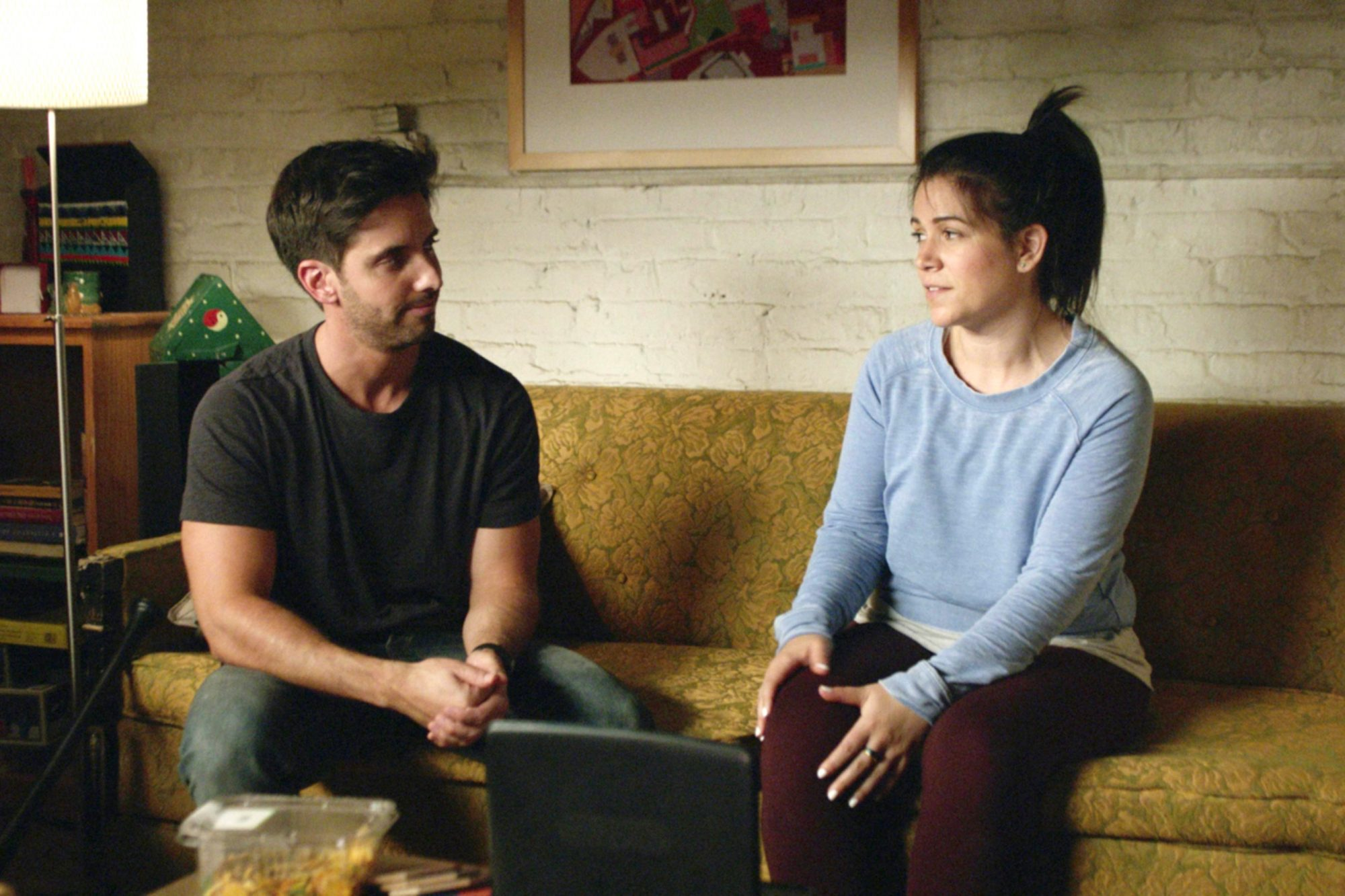 BROAD CITY, (from left): Paul W. Downs, Abbi Jacobson, 'B&B-NYC', (Season 3, ep. 307, airs March