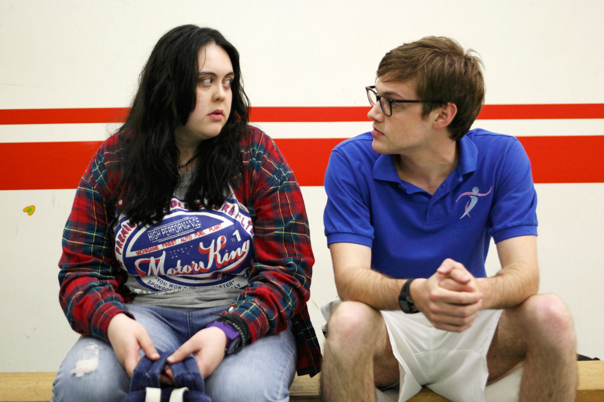 MY MAD FAT DIARY, (from left): Sharon Rooney, Dan Cohen, (Season 1, 2013). photo: ©Channel 4 UK /