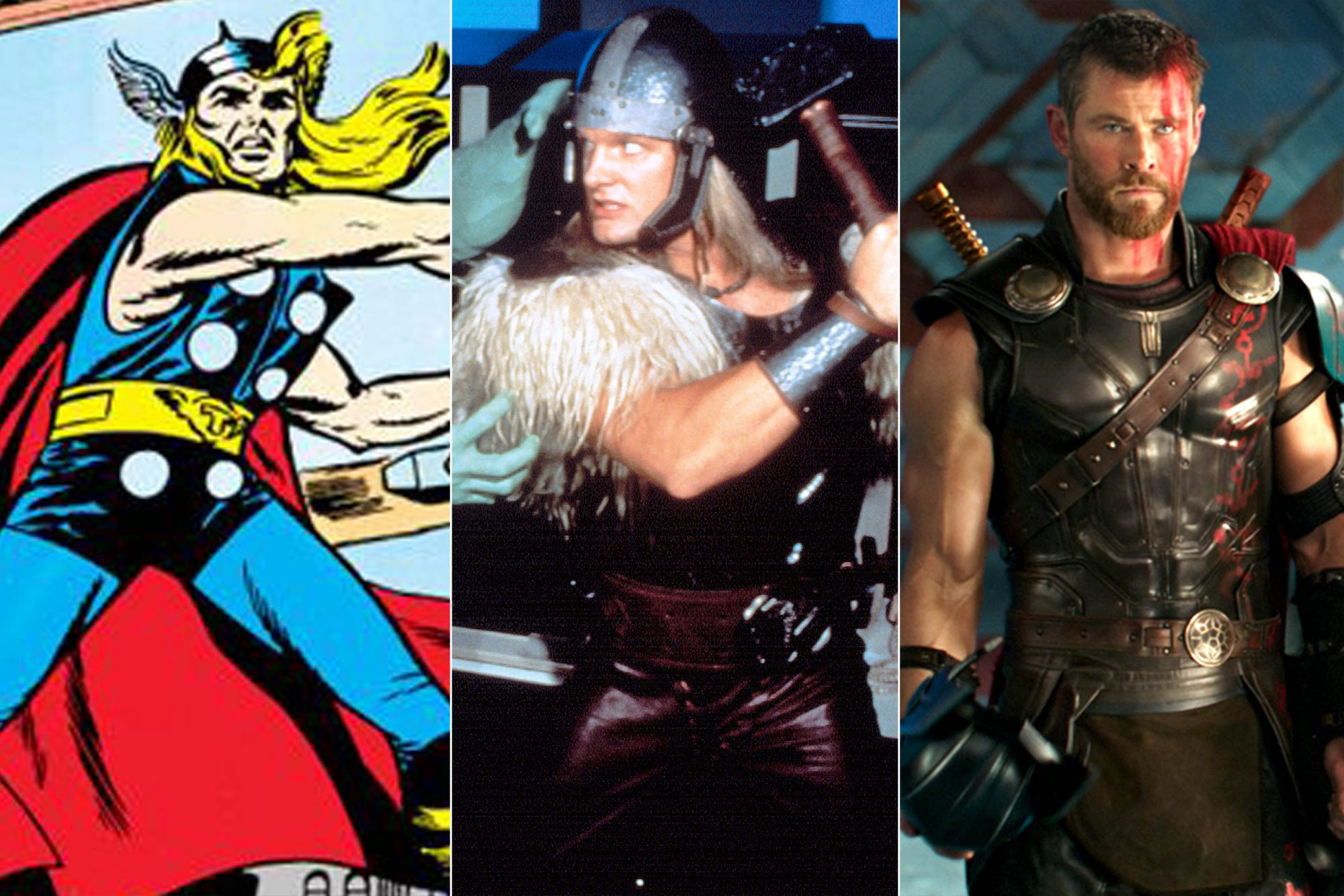 GALLERY: Evolution of Thor