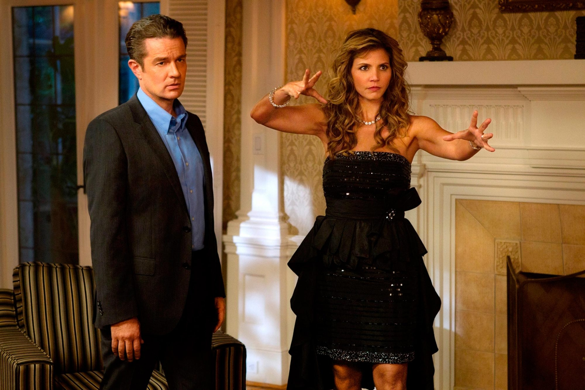7-8. James Marsters and Charisma Carpenter as Don and Maggie Stark