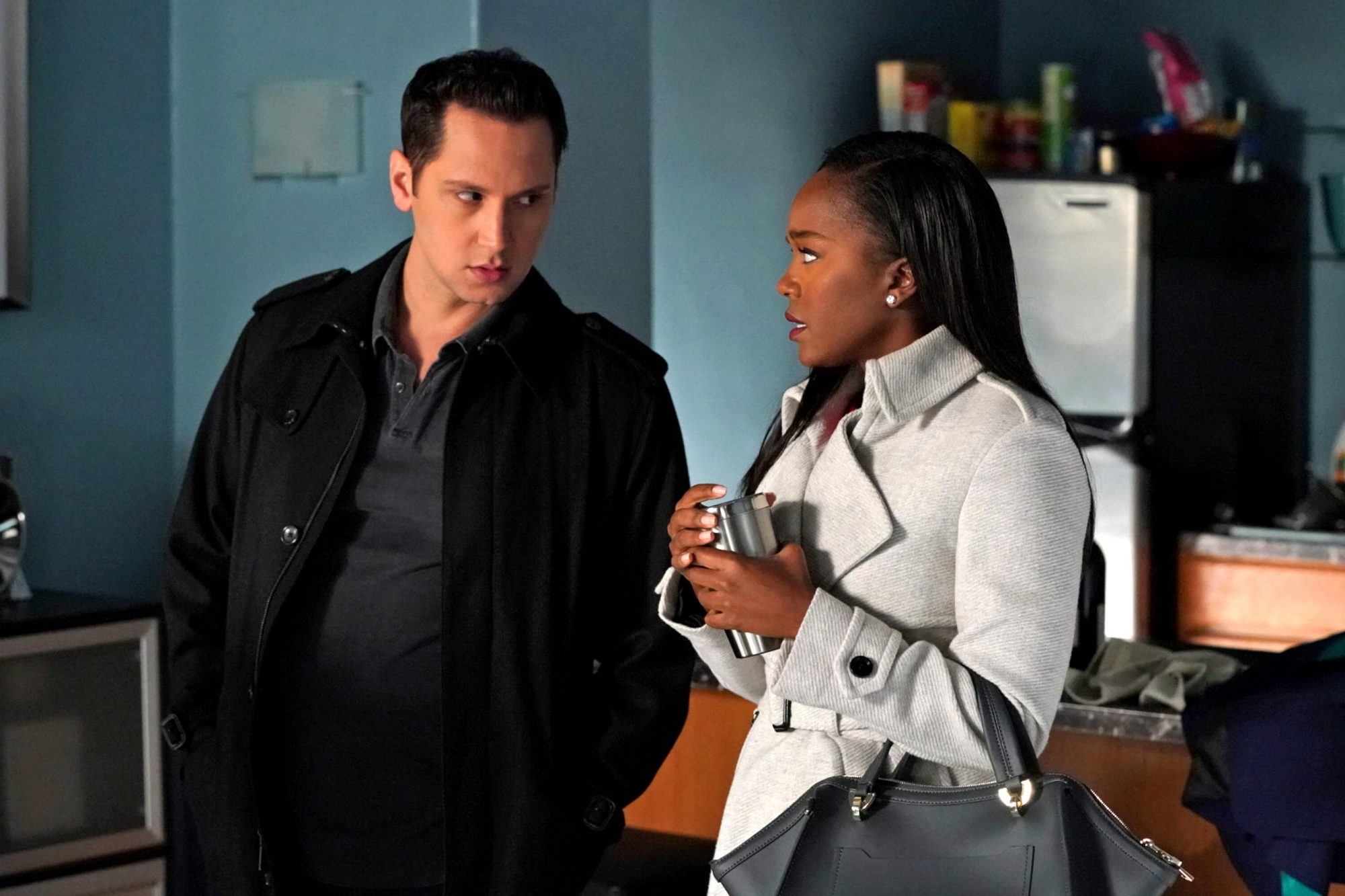 MATT MCGORRY, AJA NAOMI KING