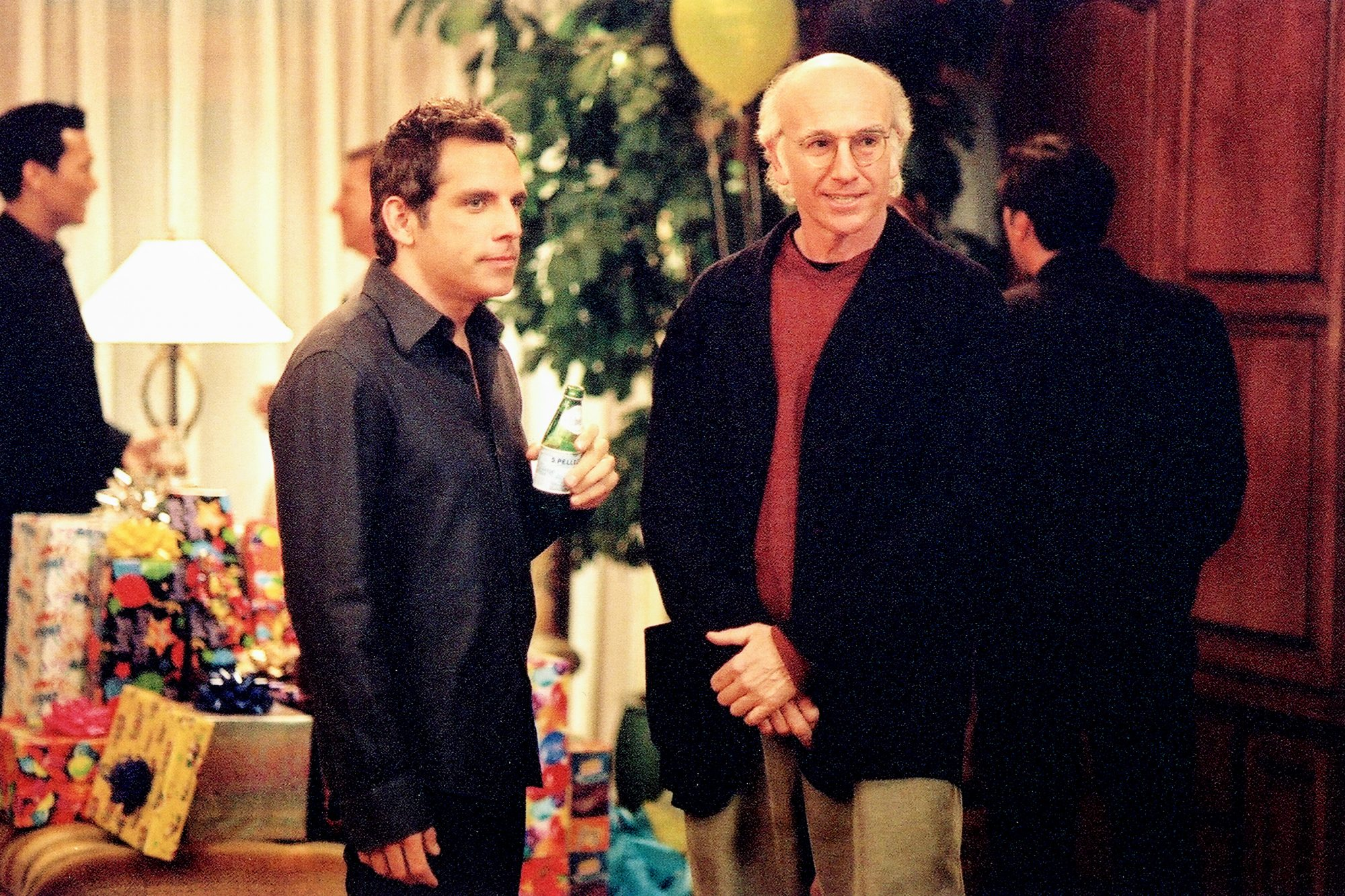 Curb Your Enthusiasm Season 4 (2004)L-R: Ben Stiller and Larry David