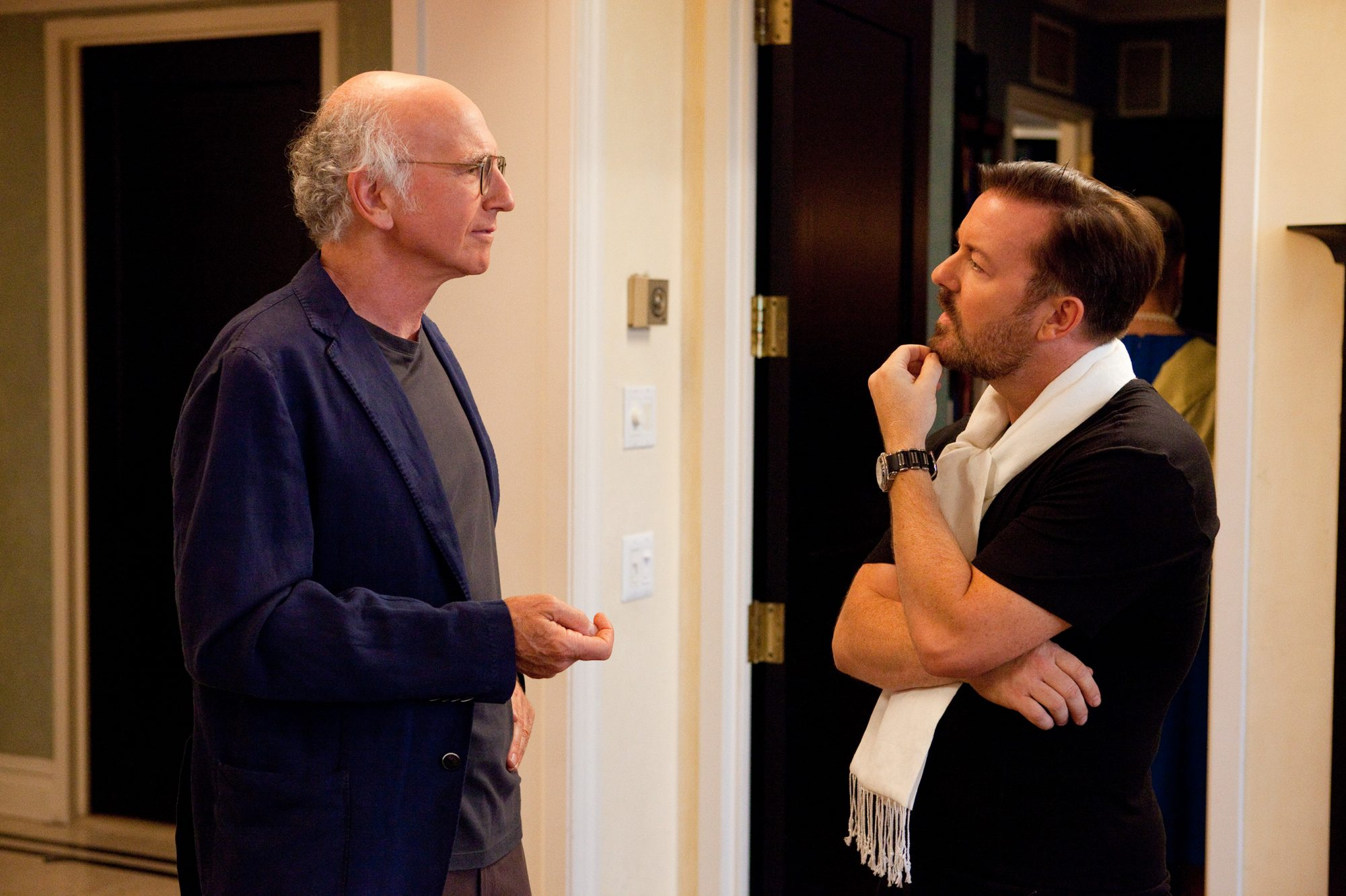 CURB YOUR ENTHUSIASMLarry David and Ricky Gervais