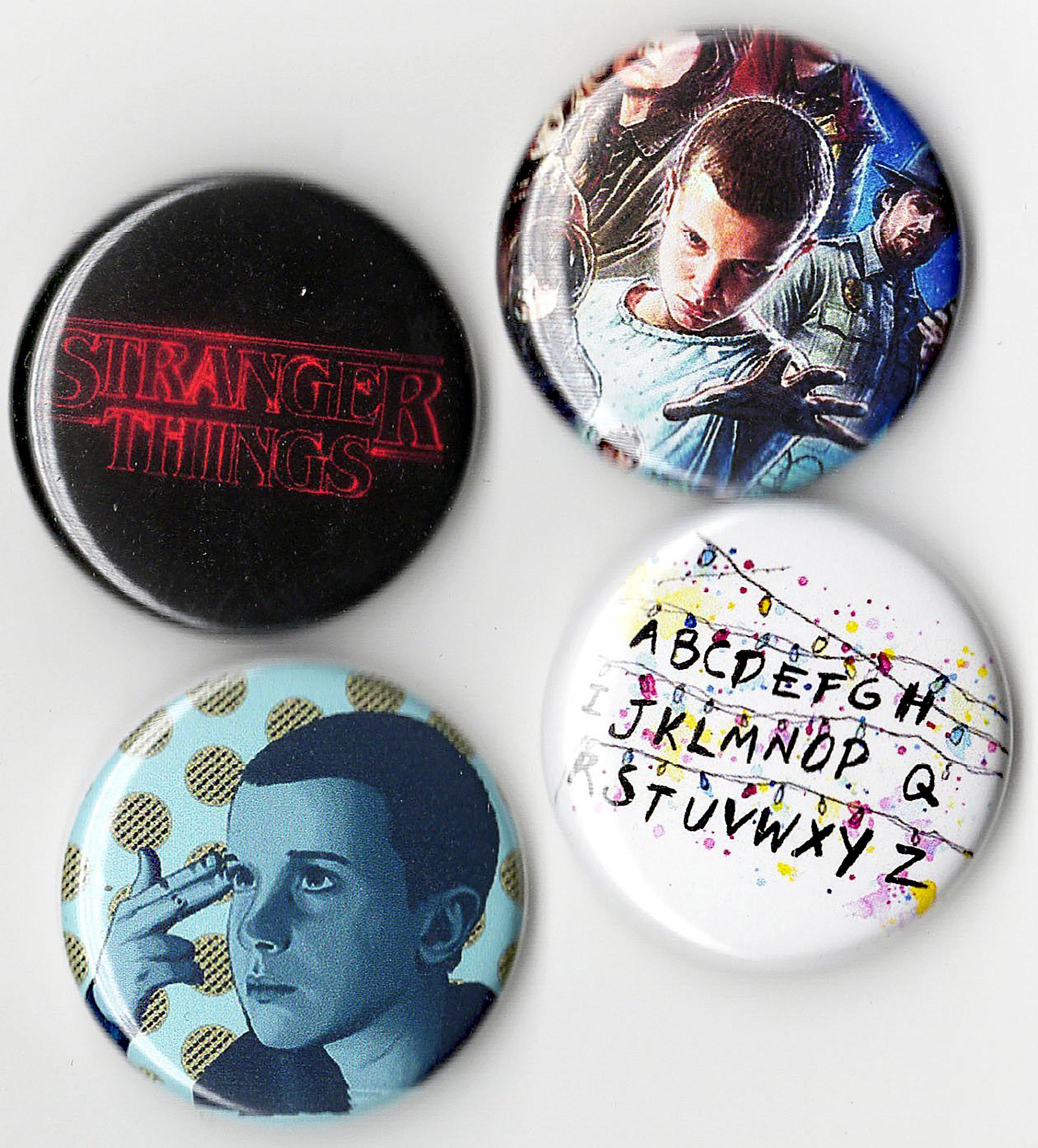 4-Piece Button Set