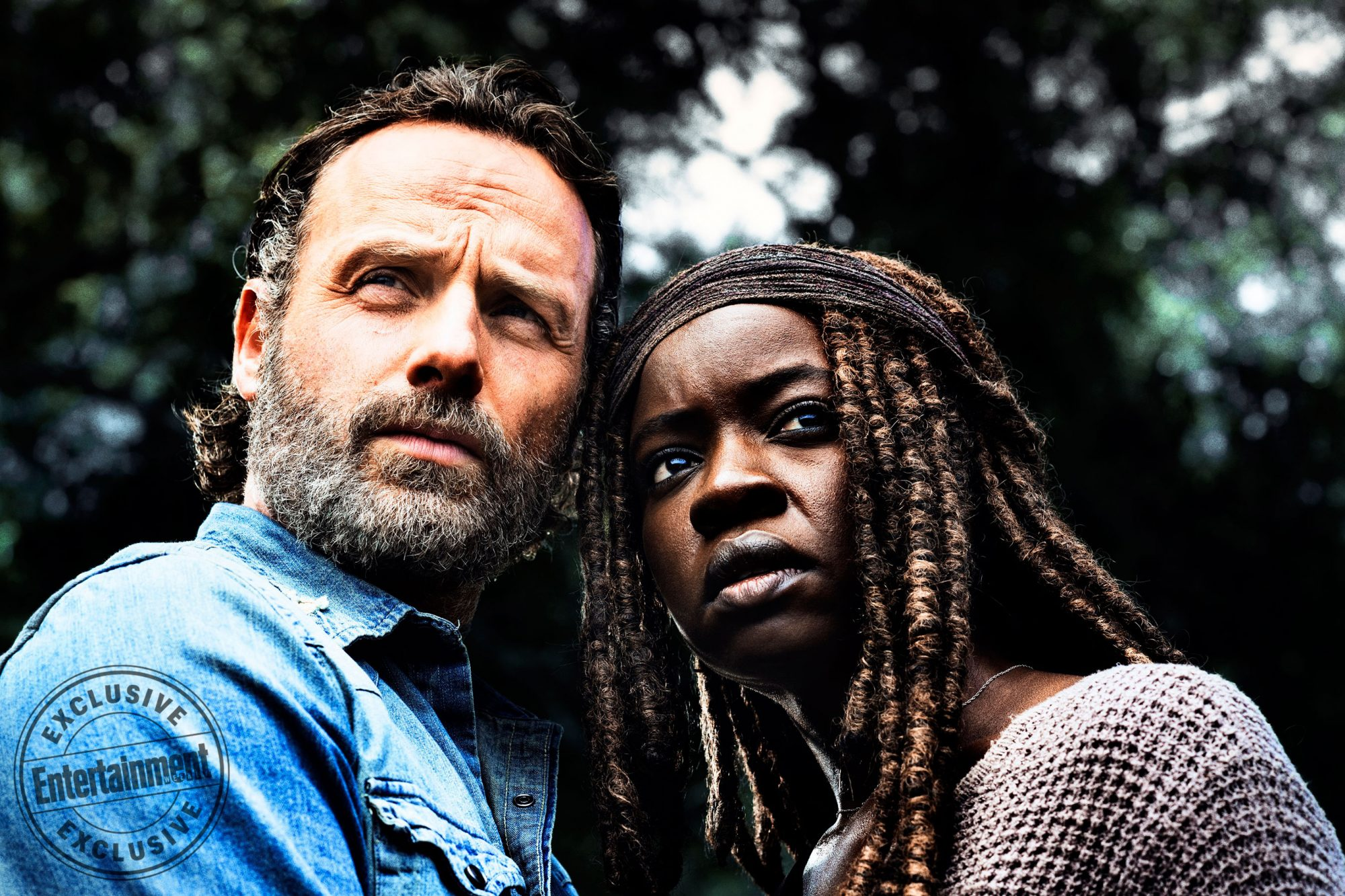 Andrew-Lincoln-as-Rick-Grimes,-Danai-Gurira-as-Michonne --The-Walking-Dead-_-Season-8,-Gallery---Photo-Credit-Alan-Clarke,-AMC_3