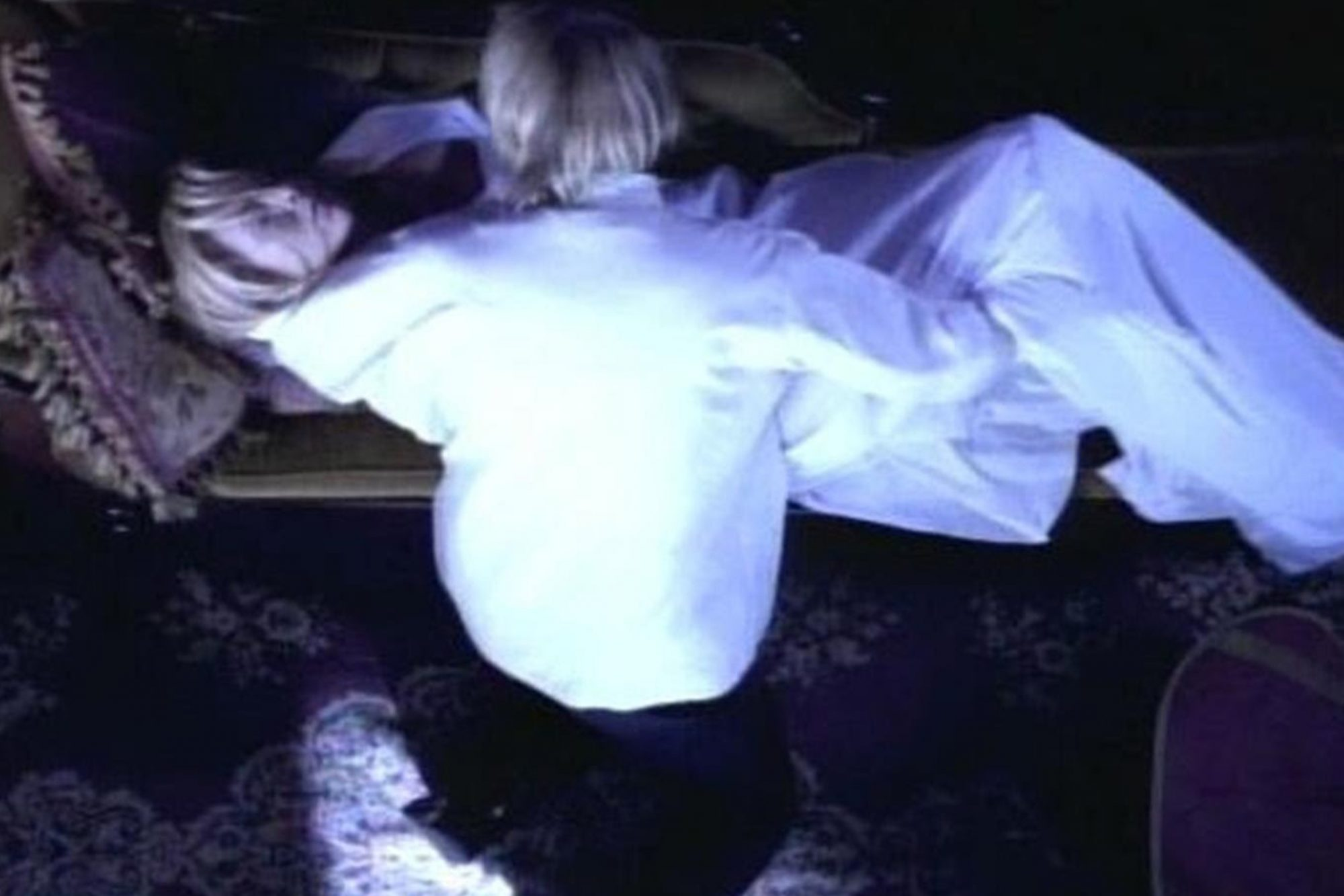 "Kim Basinger as the corpse in ""Last Dance With Mary Jane"""