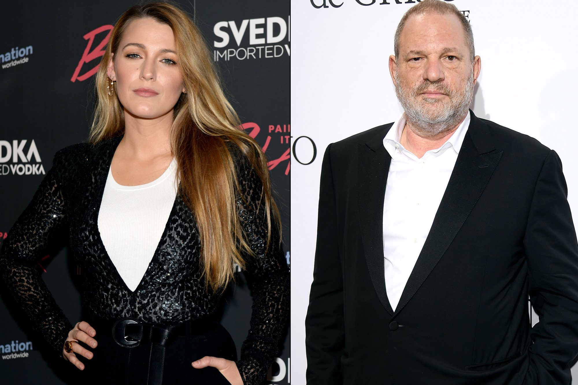 Blake Lively/ Harvey Weinstein