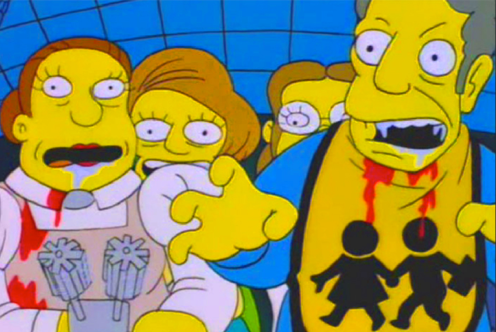 Nightmare Cafeteria  Treehouse of Horror V  (1994)Selected by: David Mirkin