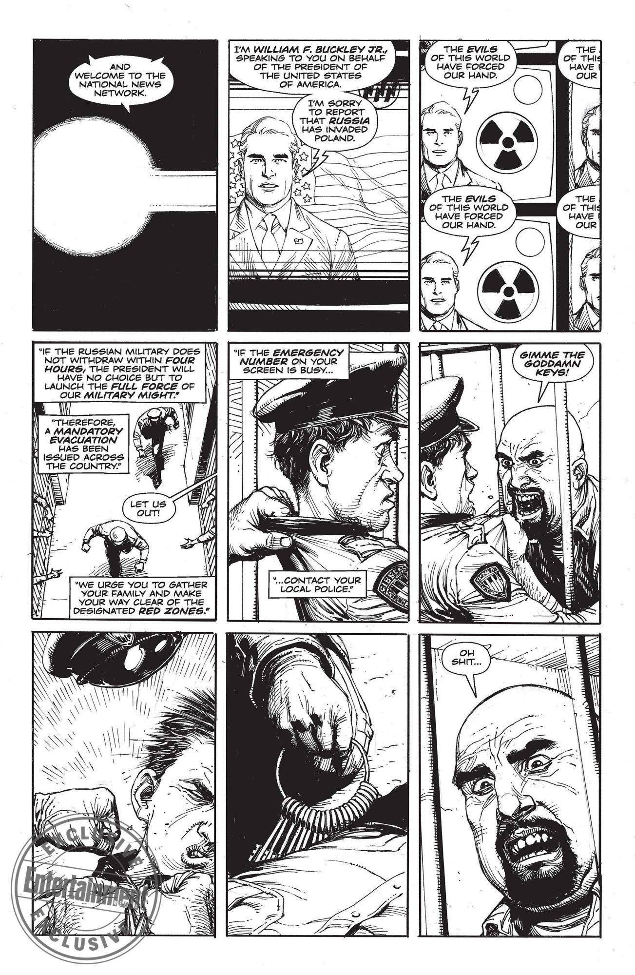 Doomsday Clock CR: DC Entertainment