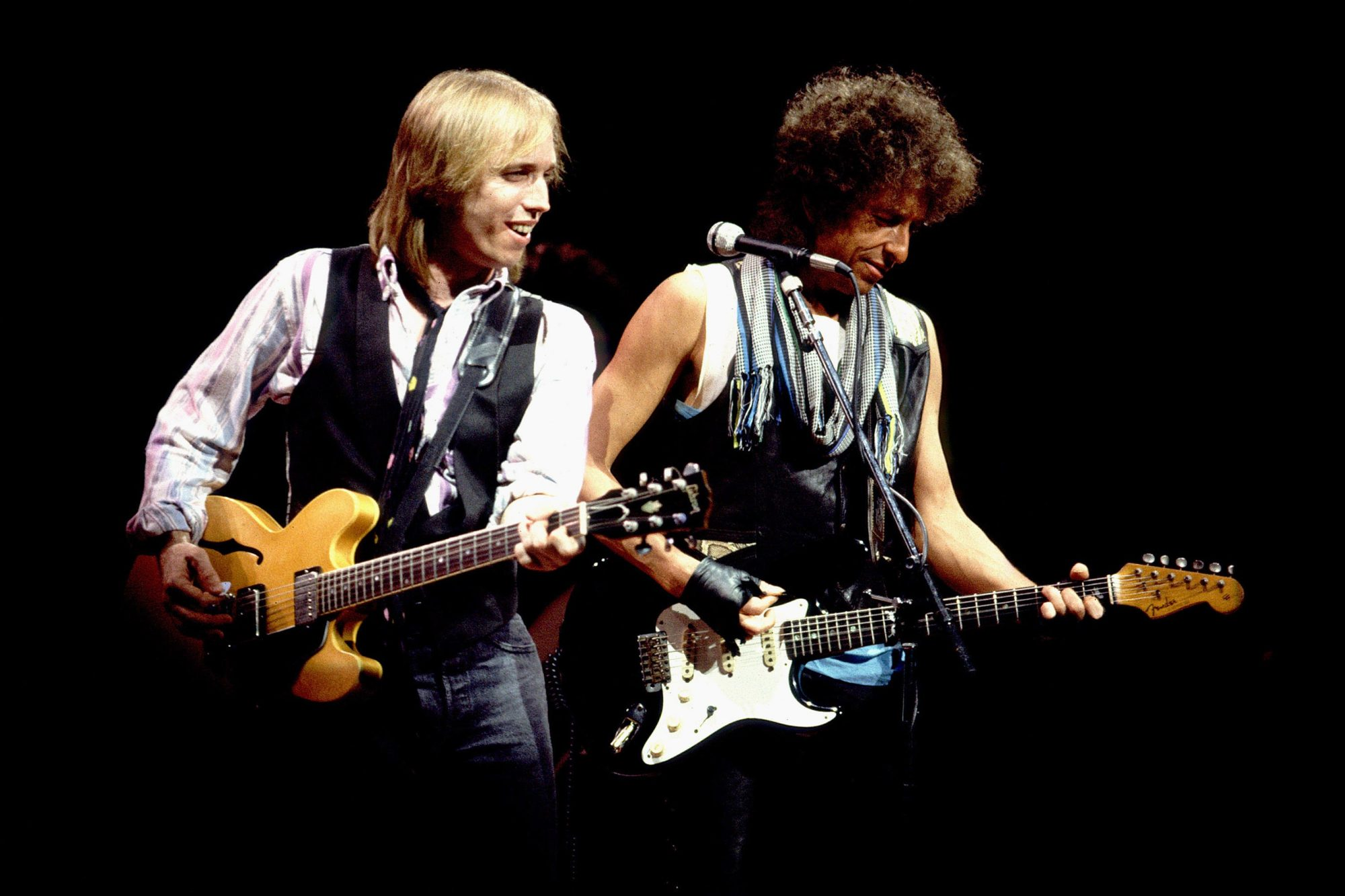 Bob Dylan and Tom Petty in Concert - July 22, 1986