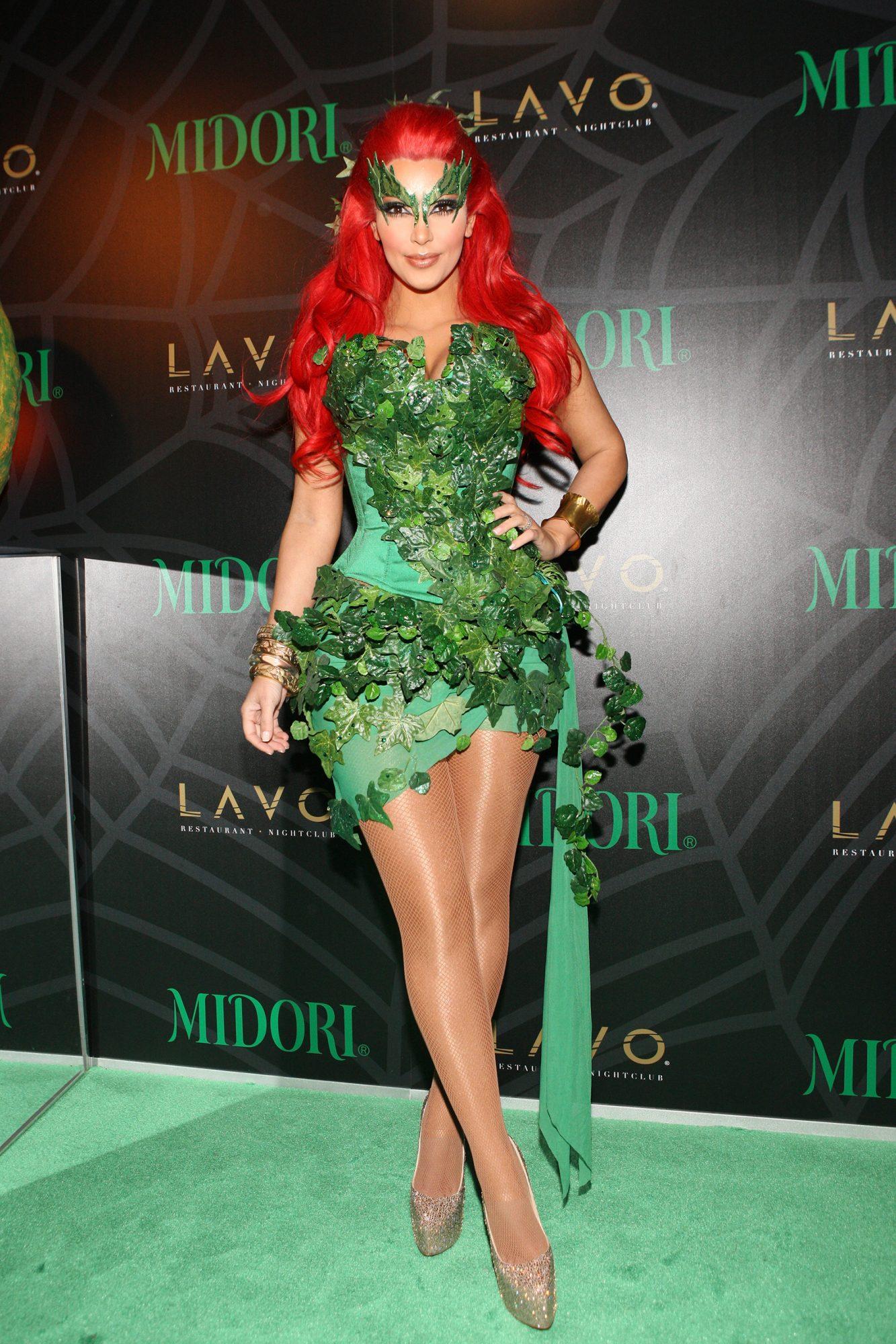 Midori Green Halloween Costume Party