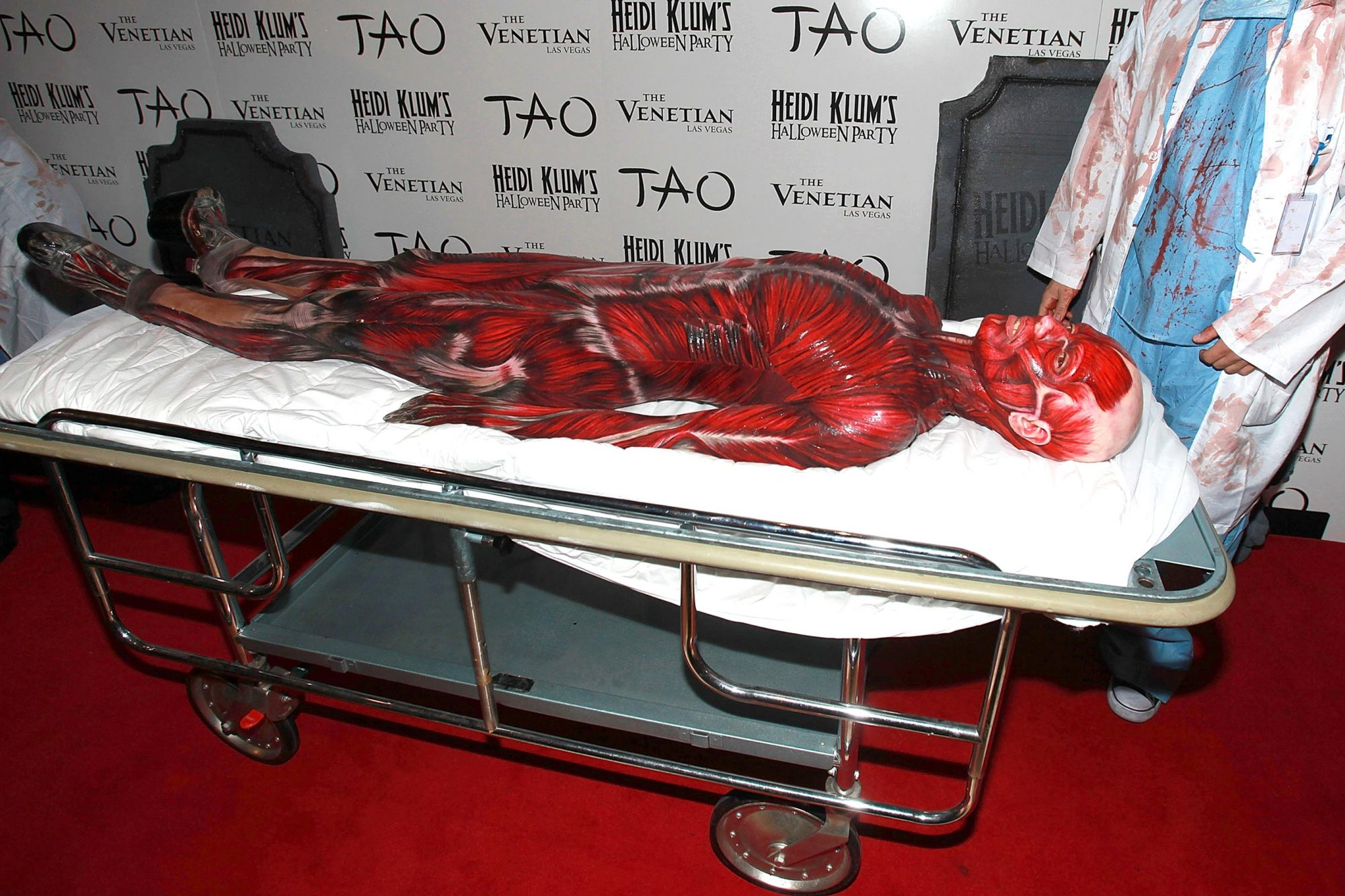 Heidi Klum's 12th Annual Halloween Party at TAO Las Vegas at the Venetian