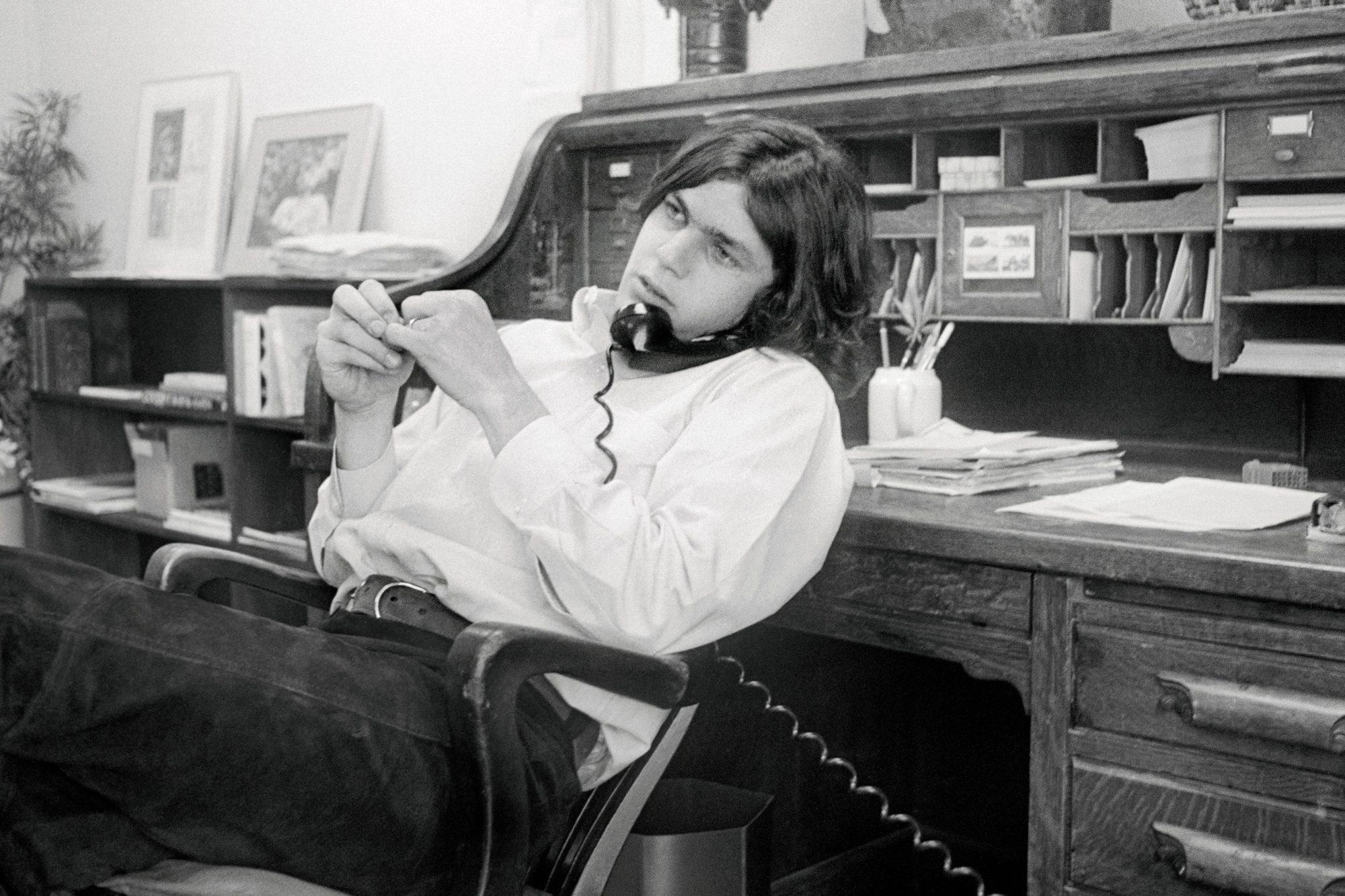Portrait of Jann Wenner